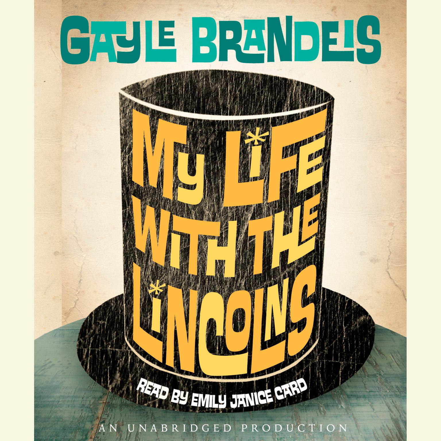 Printable My Life with the Lincolns Audiobook Cover Art