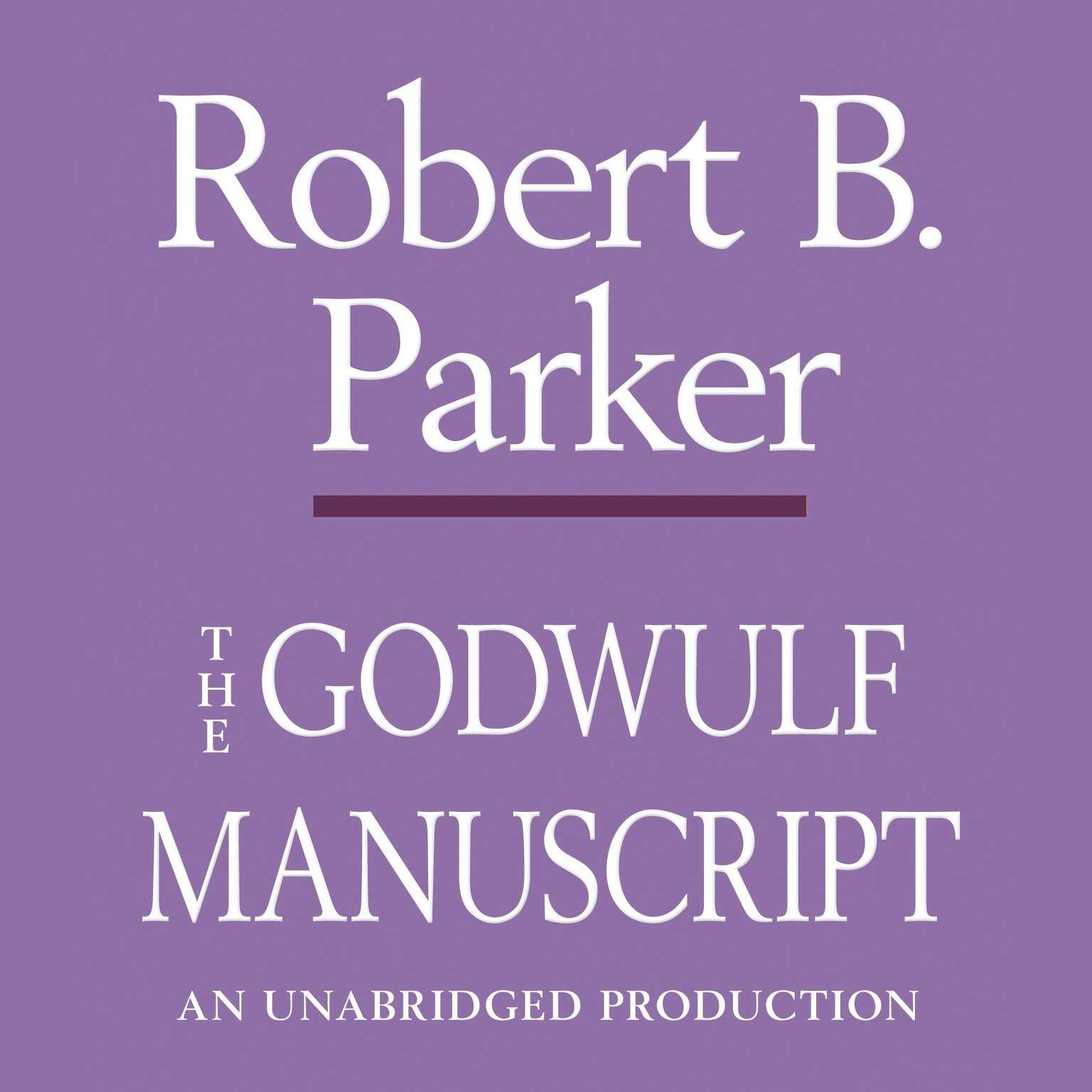 Printable The Godwulf Manuscript Audiobook Cover Art