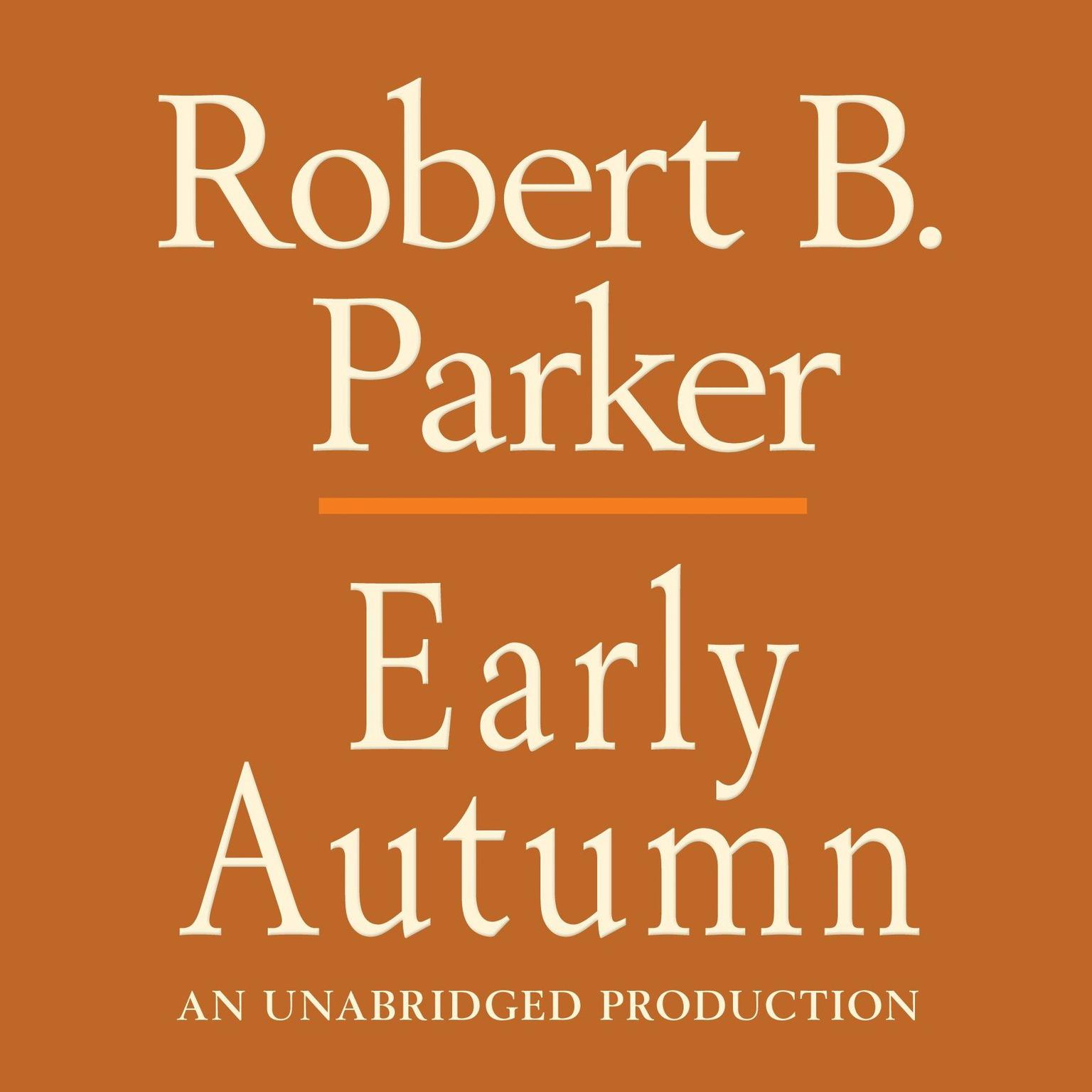 Printable Early Autumn Audiobook Cover Art