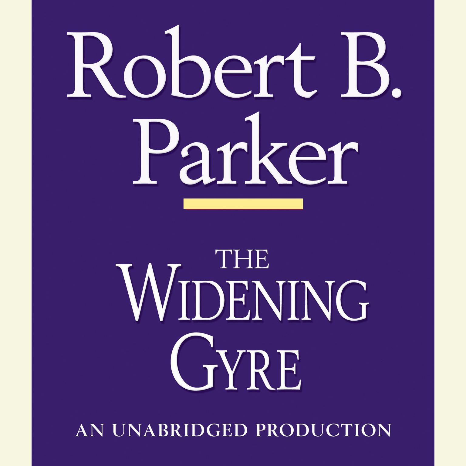 Printable The Widening Gyre Audiobook Cover Art
