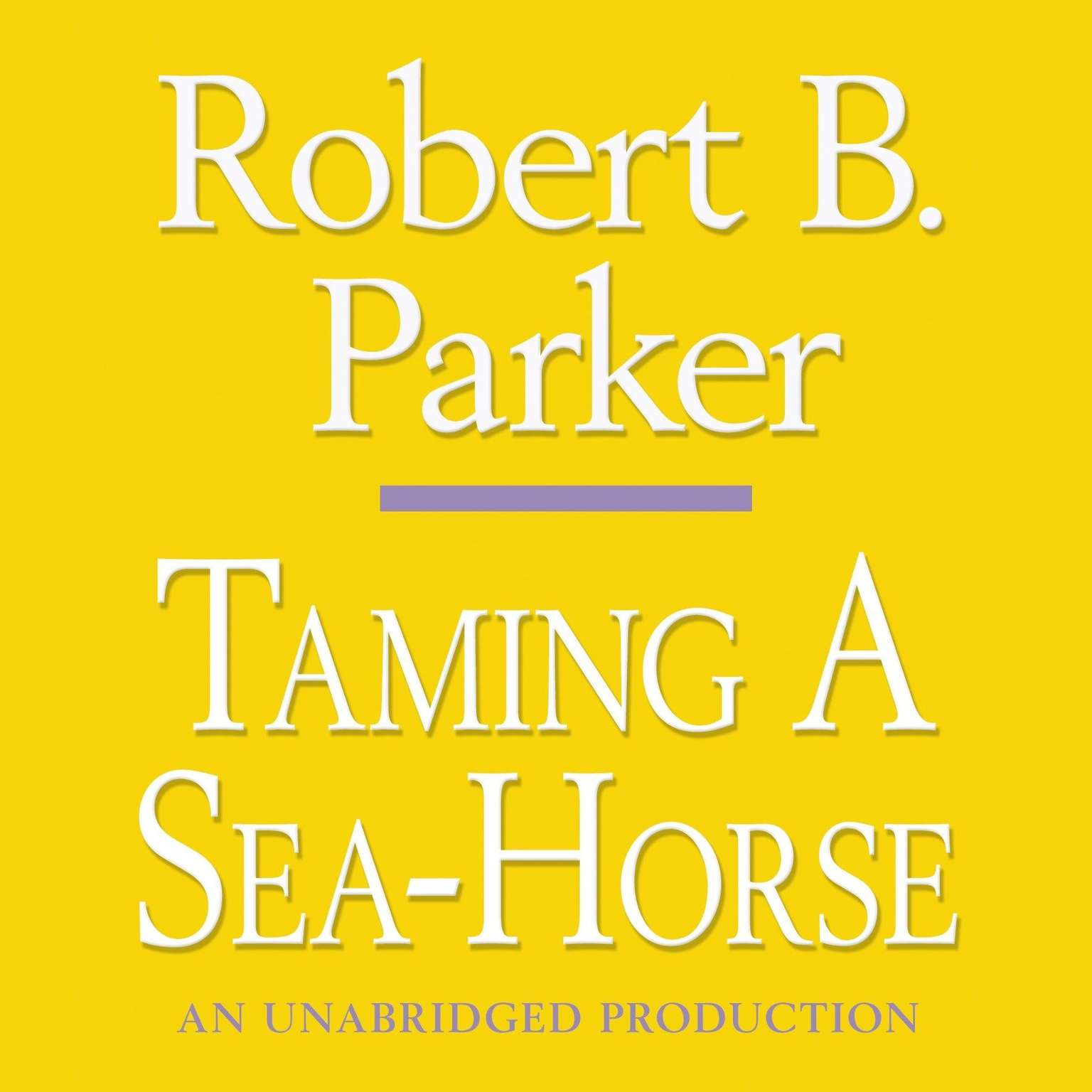Printable Taming a Sea-Horse Audiobook Cover Art