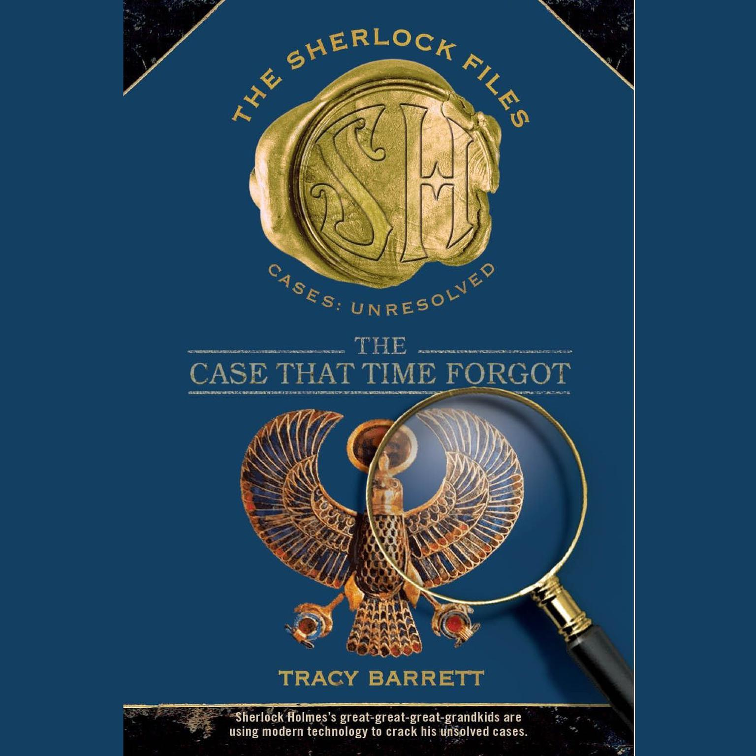 Printable The Case that Time Forgot: The Sherlock Files #3 Audiobook Cover Art