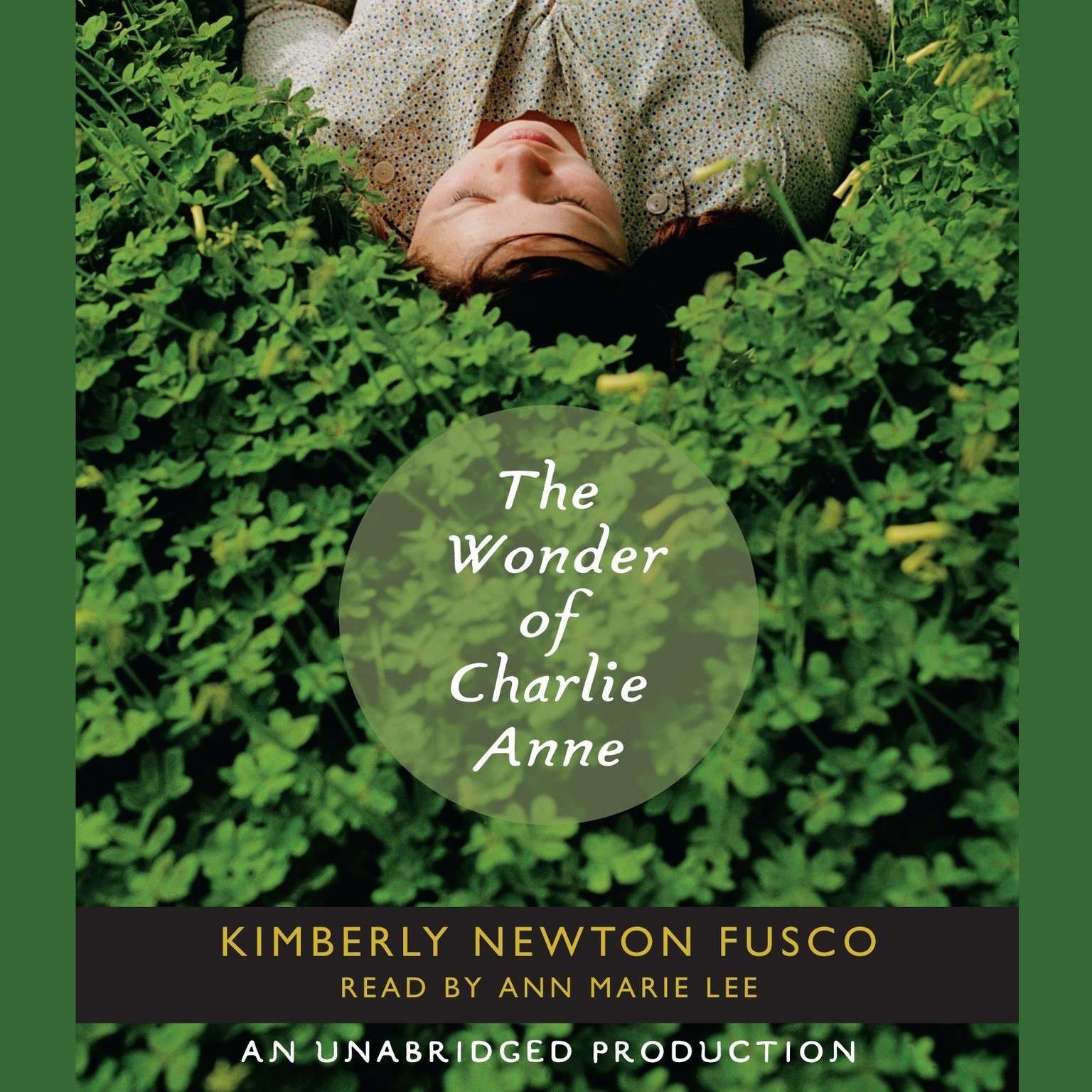 Printable The Wonder of Charlie Anne Audiobook Cover Art