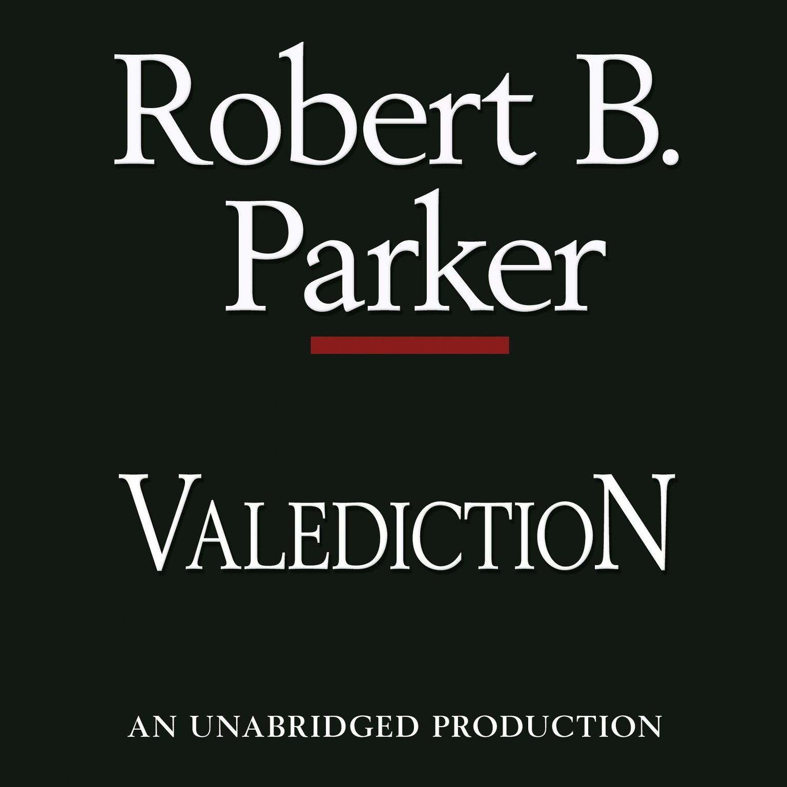 Printable Valediction Audiobook Cover Art