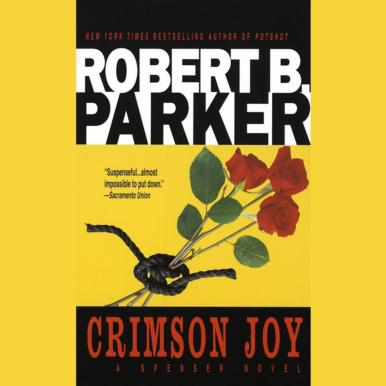 Printable Crimson Joy Audiobook Cover Art