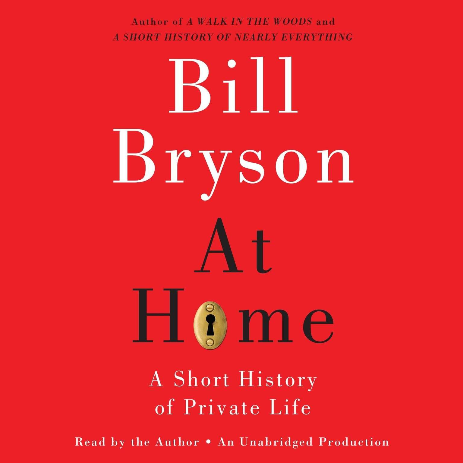 Printable At Home: A Short History of Private Life Audiobook Cover Art