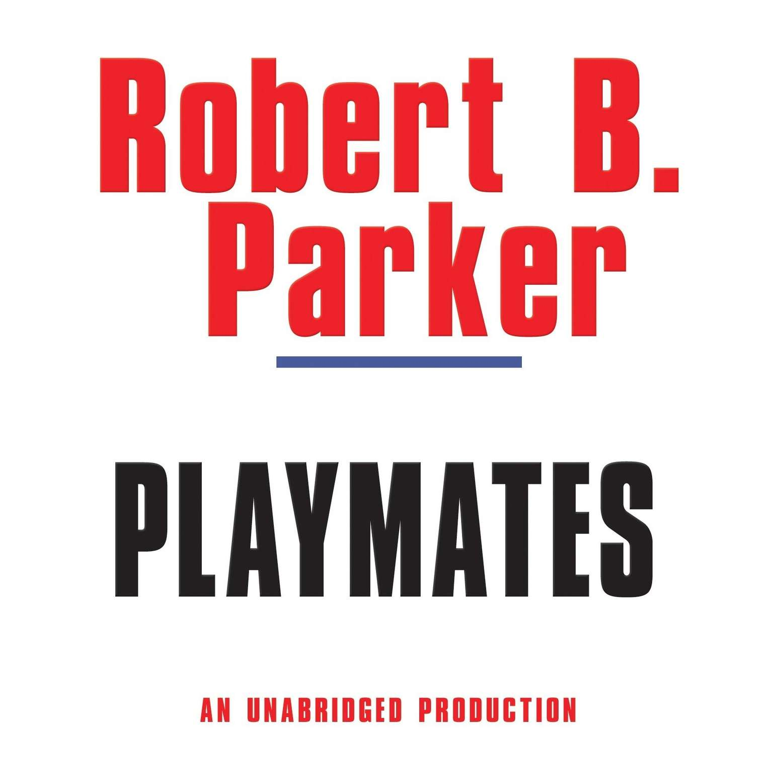 Printable Playmates Audiobook Cover Art