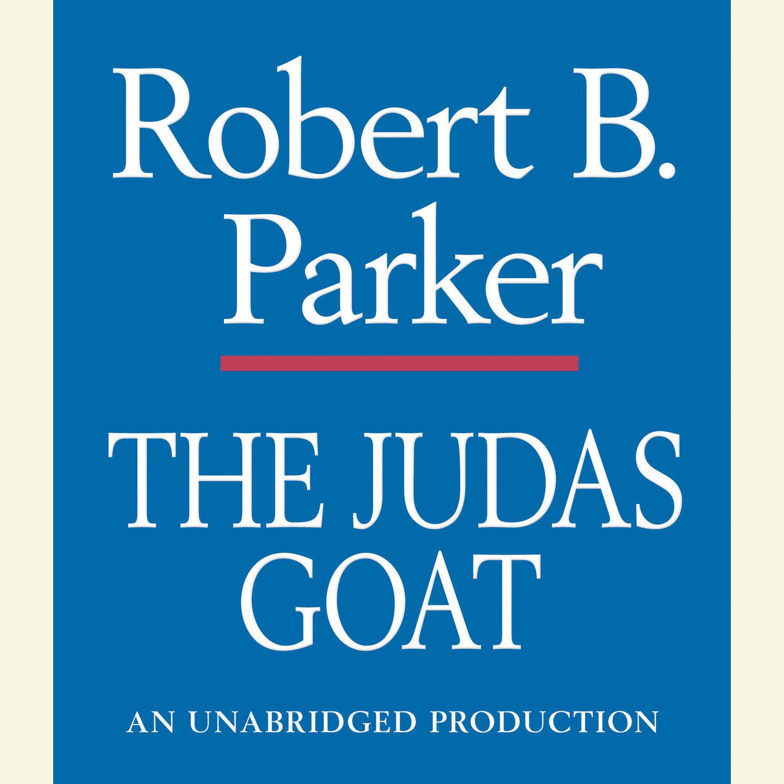 Printable The Judas Goat Audiobook Cover Art