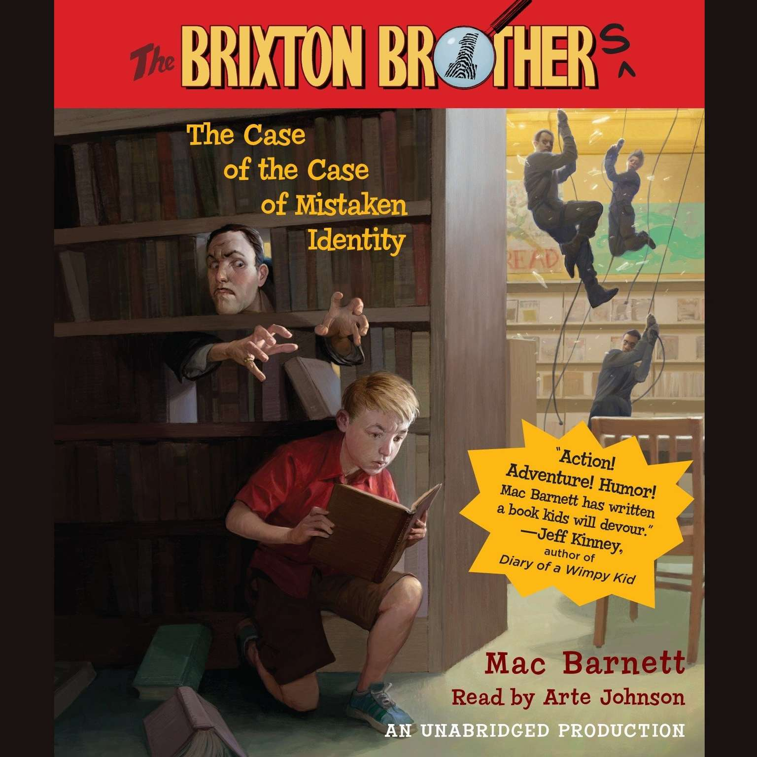 The Case Of Mistaken Identity Brixton Brothers Book 1 Audiobook