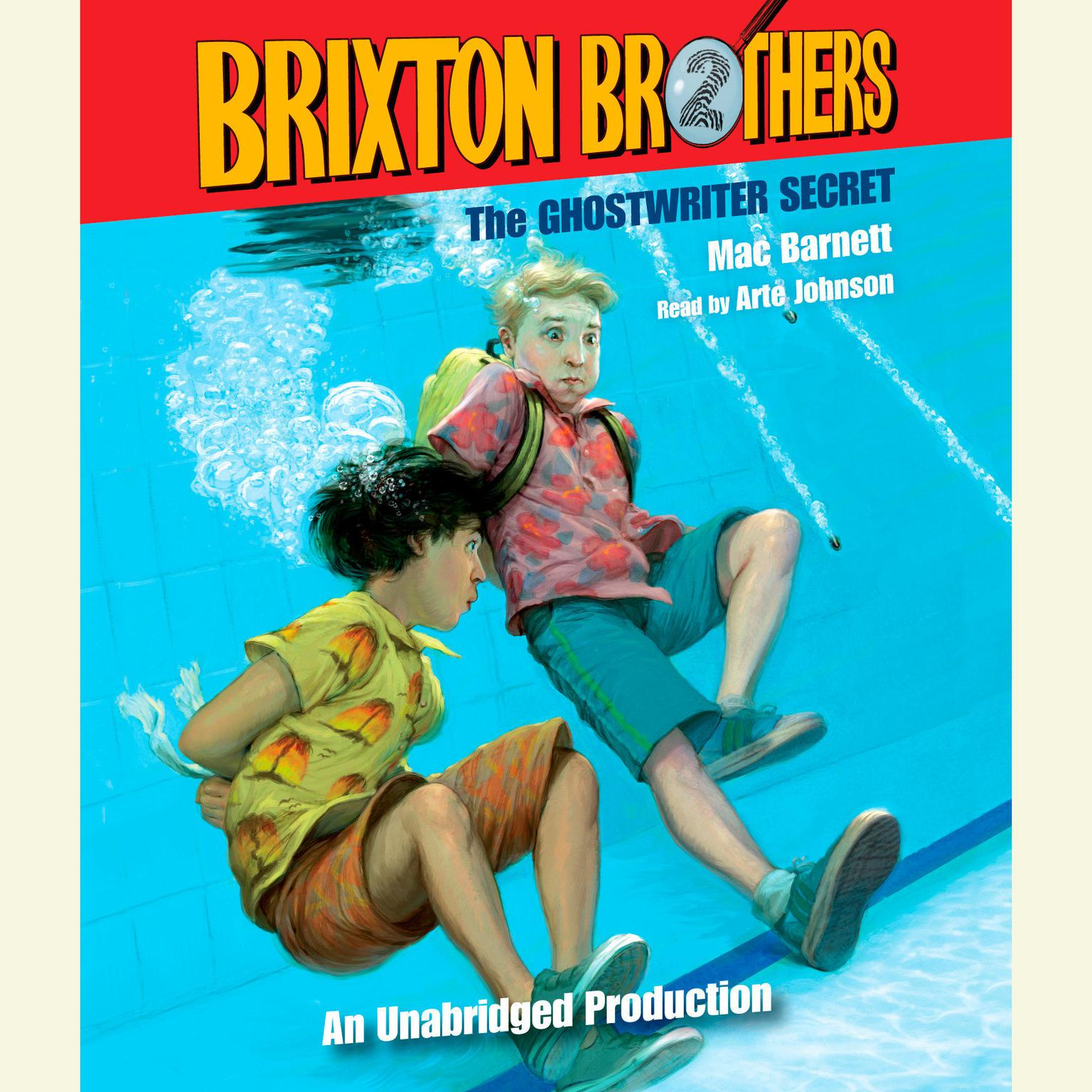Printable The Ghostwriter Secret: Brixton Brothers, Book 2 Audiobook Cover Art