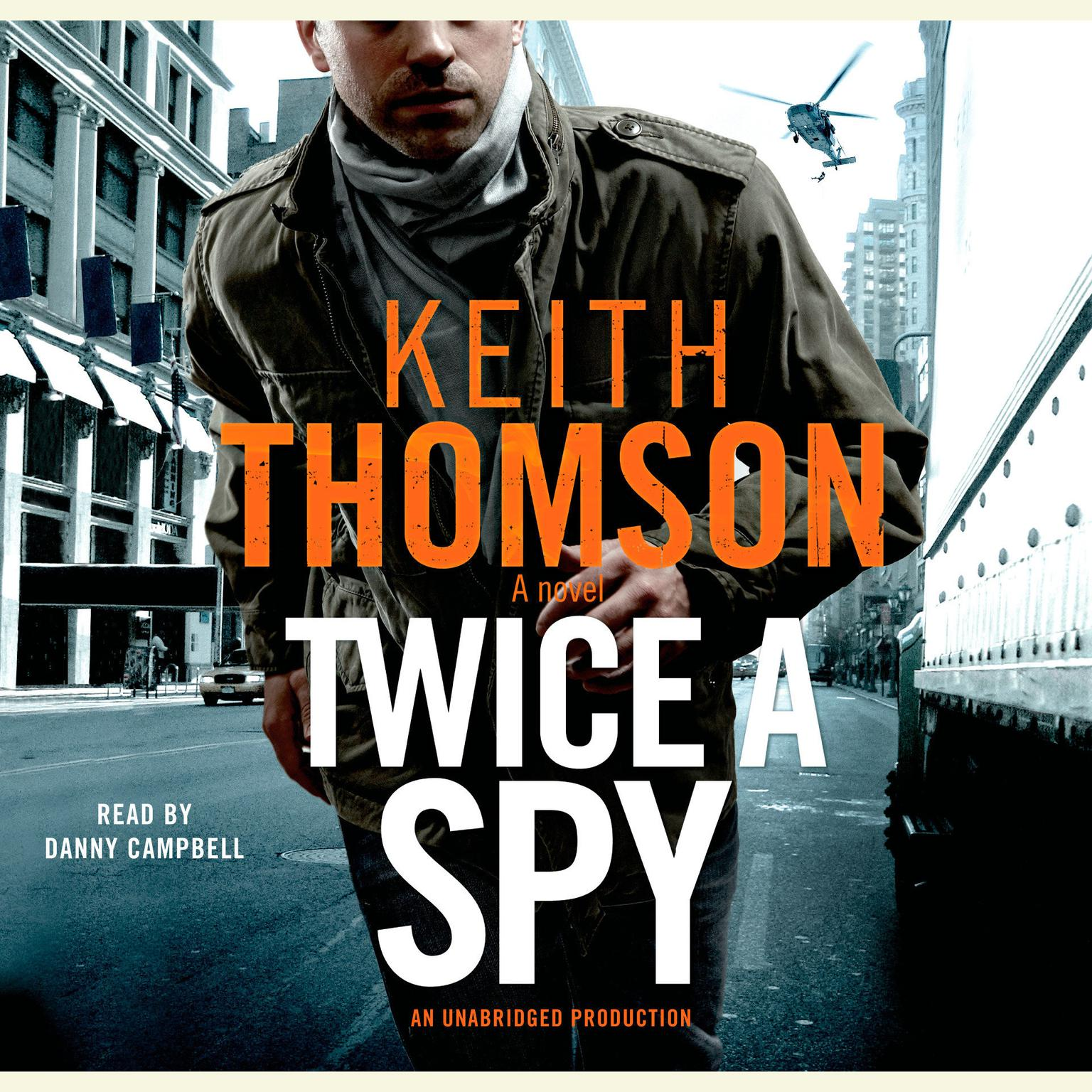 Printable Twice a Spy: A Novel Audiobook Cover Art