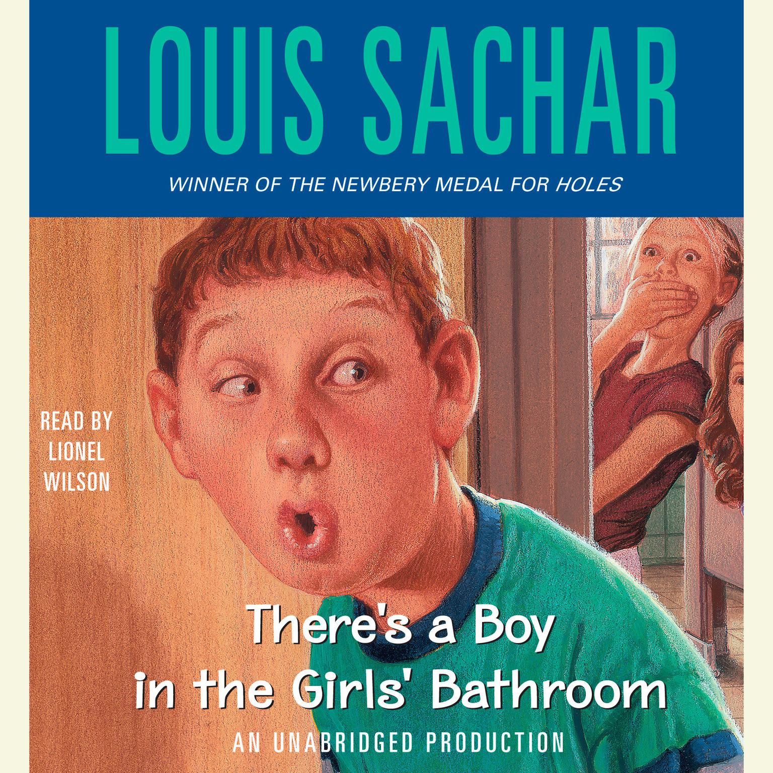 Printable There's a Boy in the Girls' Bathroom Audiobook Cover Art
