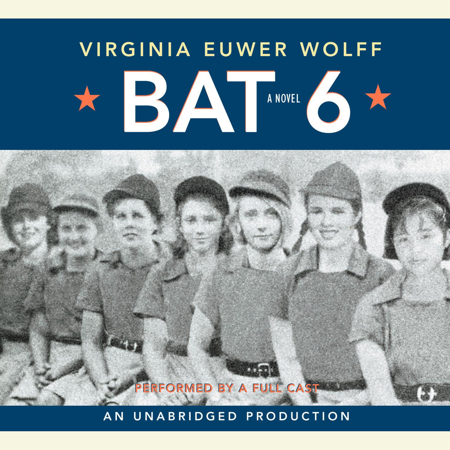 Printable Bat 6 Audiobook Cover Art