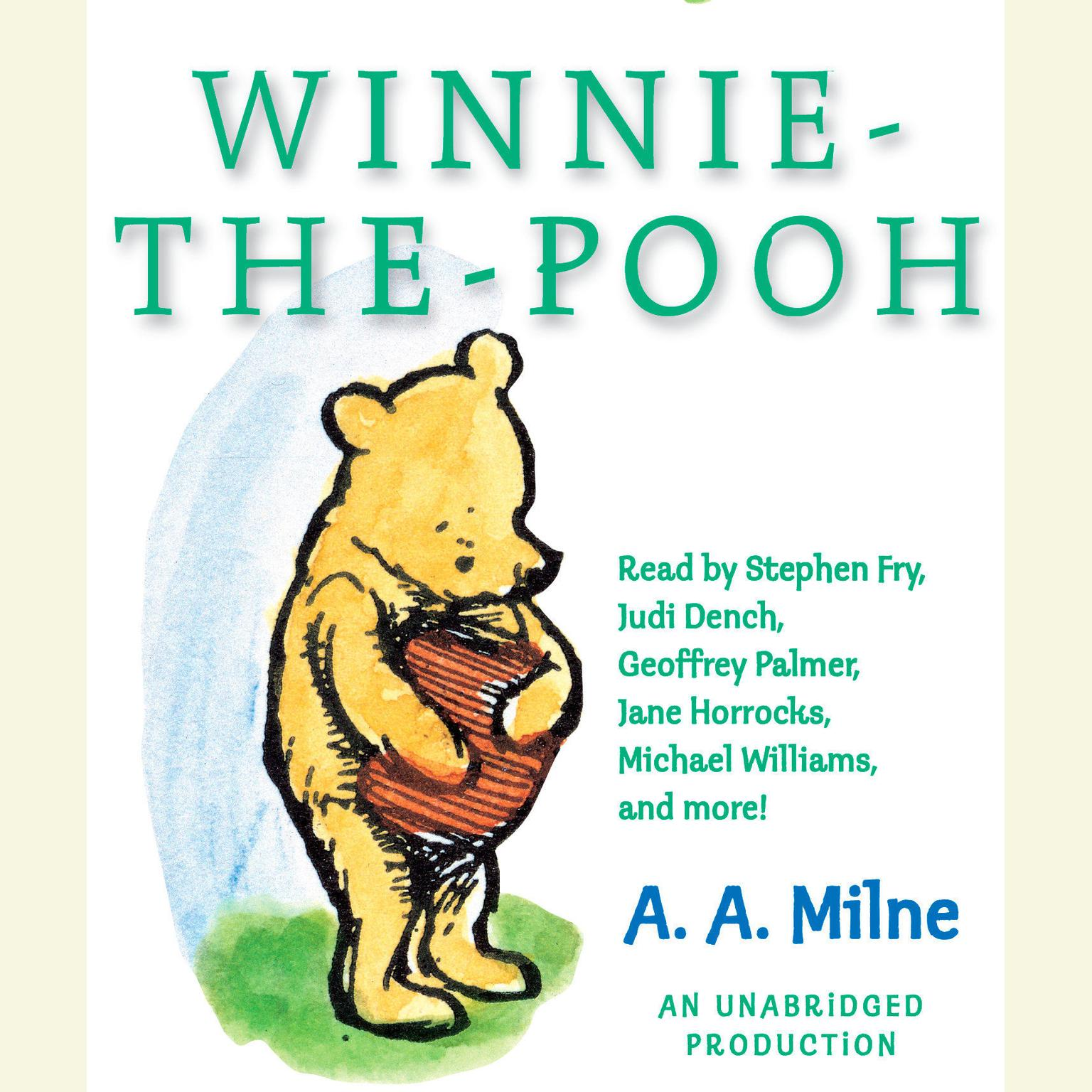 Printable Winnie-the-Pooh Audiobook Cover Art