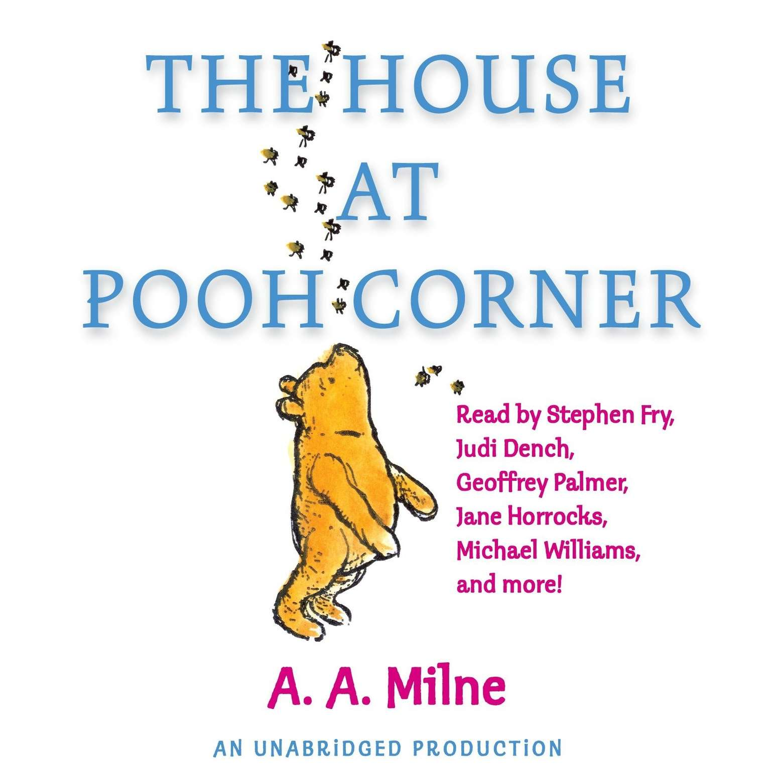 Printable The House at Pooh Corner Audiobook Cover Art
