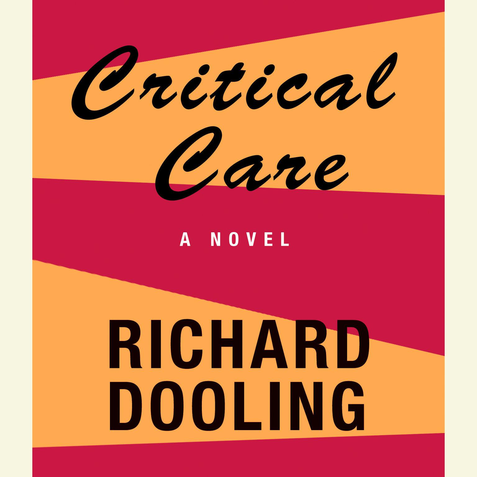 Printable Critical Care Audiobook Cover Art