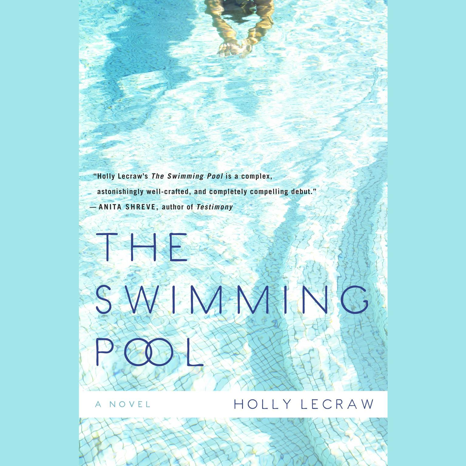 Printable The Swimming Pool Audiobook Cover Art