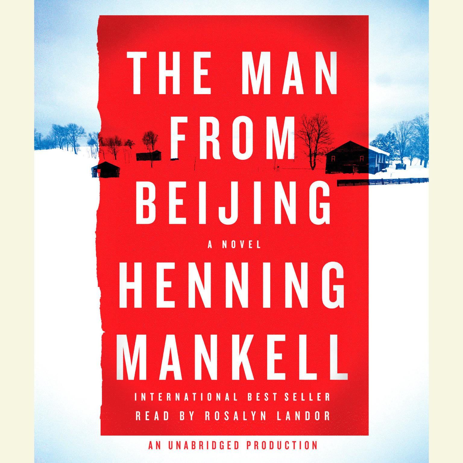 Printable The Man from Beijing Audiobook Cover Art