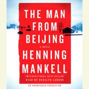 The Man from Beijing, by Henning Mankell