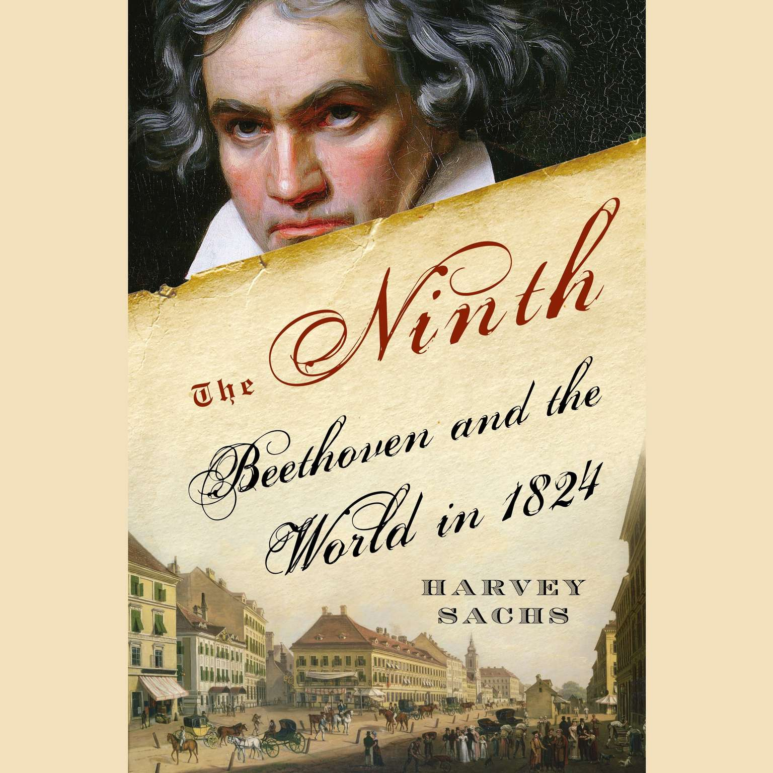 Printable The Ninth: Beethoven and the World in 1824 Audiobook Cover Art