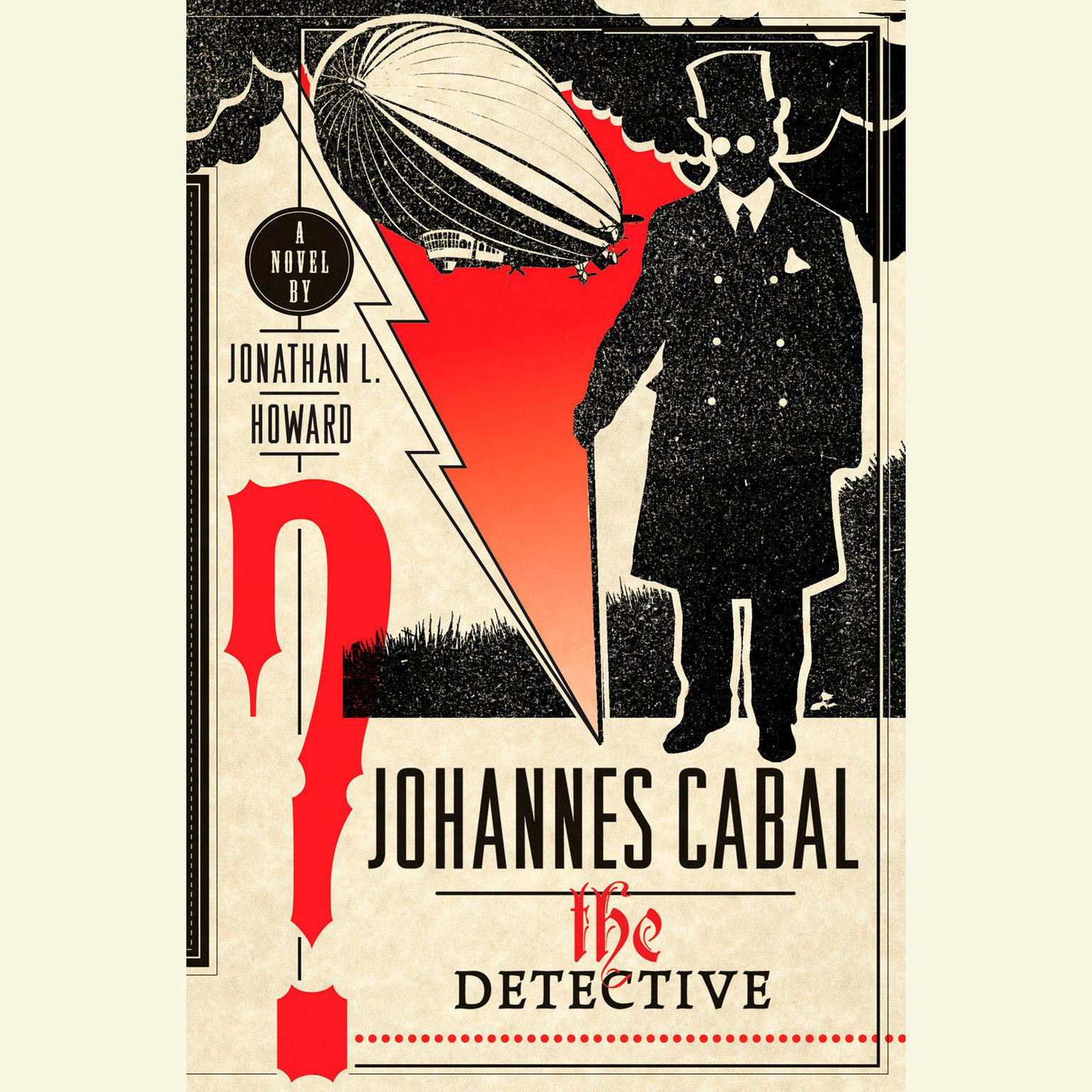 Printable Johannes Cabal the Detective Audiobook Cover Art