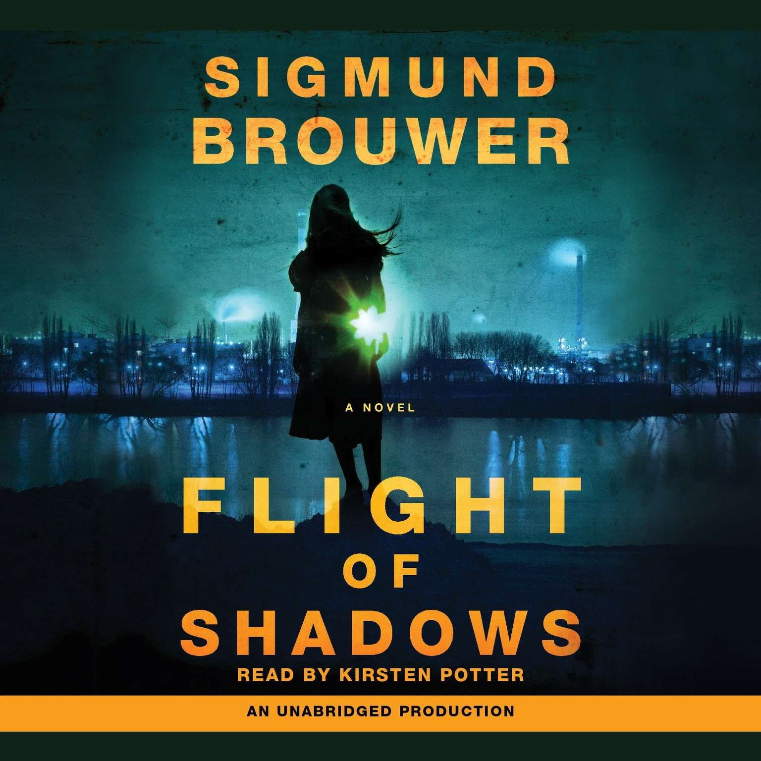 Printable Flight of Shadows: A Novel Audiobook Cover Art