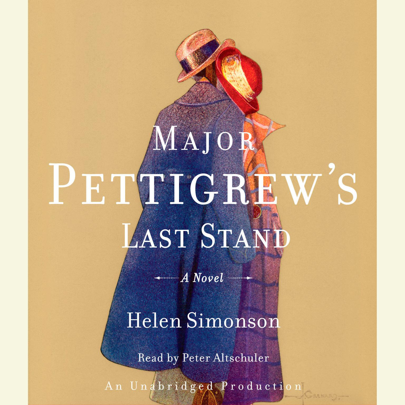 Printable Major Pettigrew's Last Stand: A Novel Audiobook Cover Art