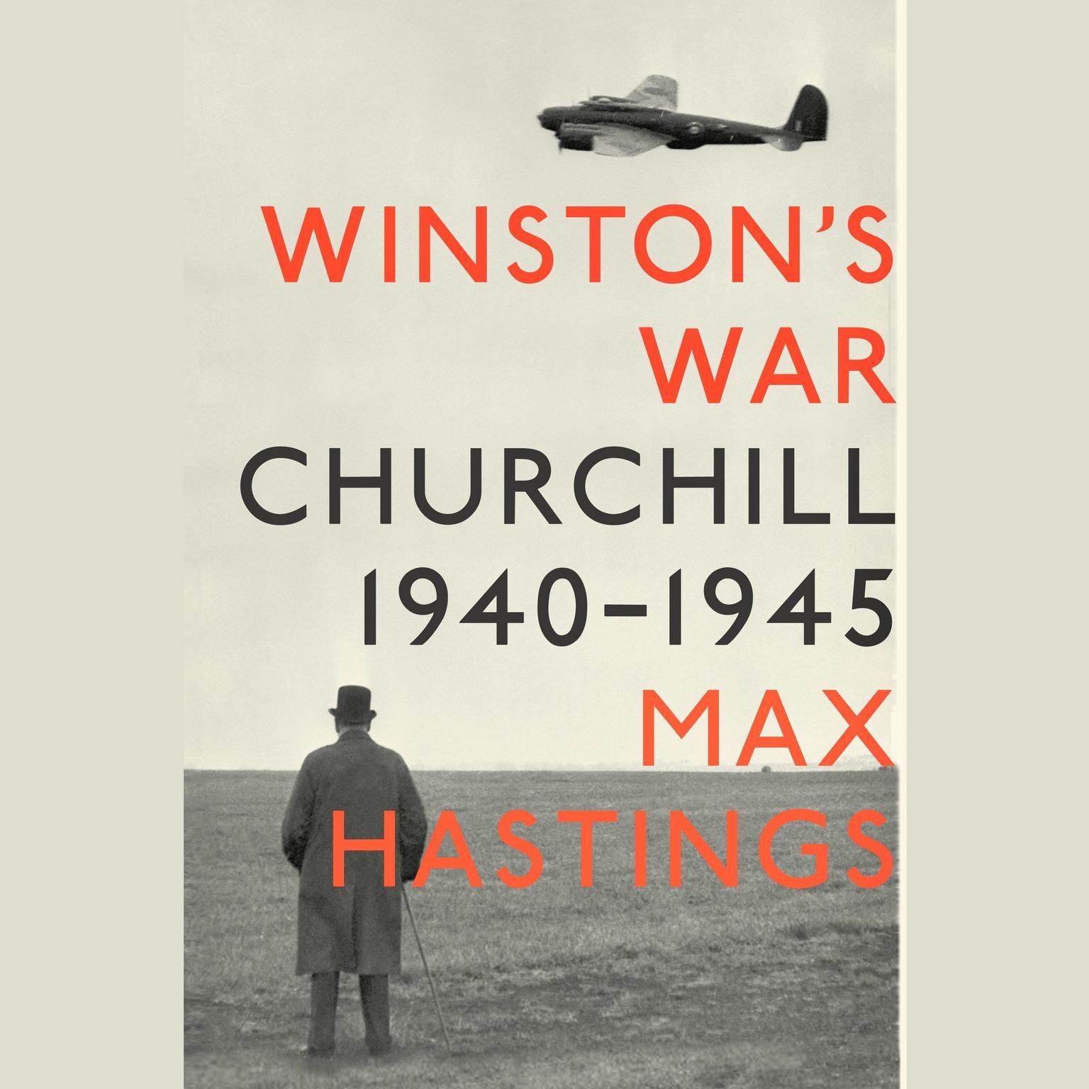 Printable Winston's War: Churchill, 1940-1945 Audiobook Cover Art