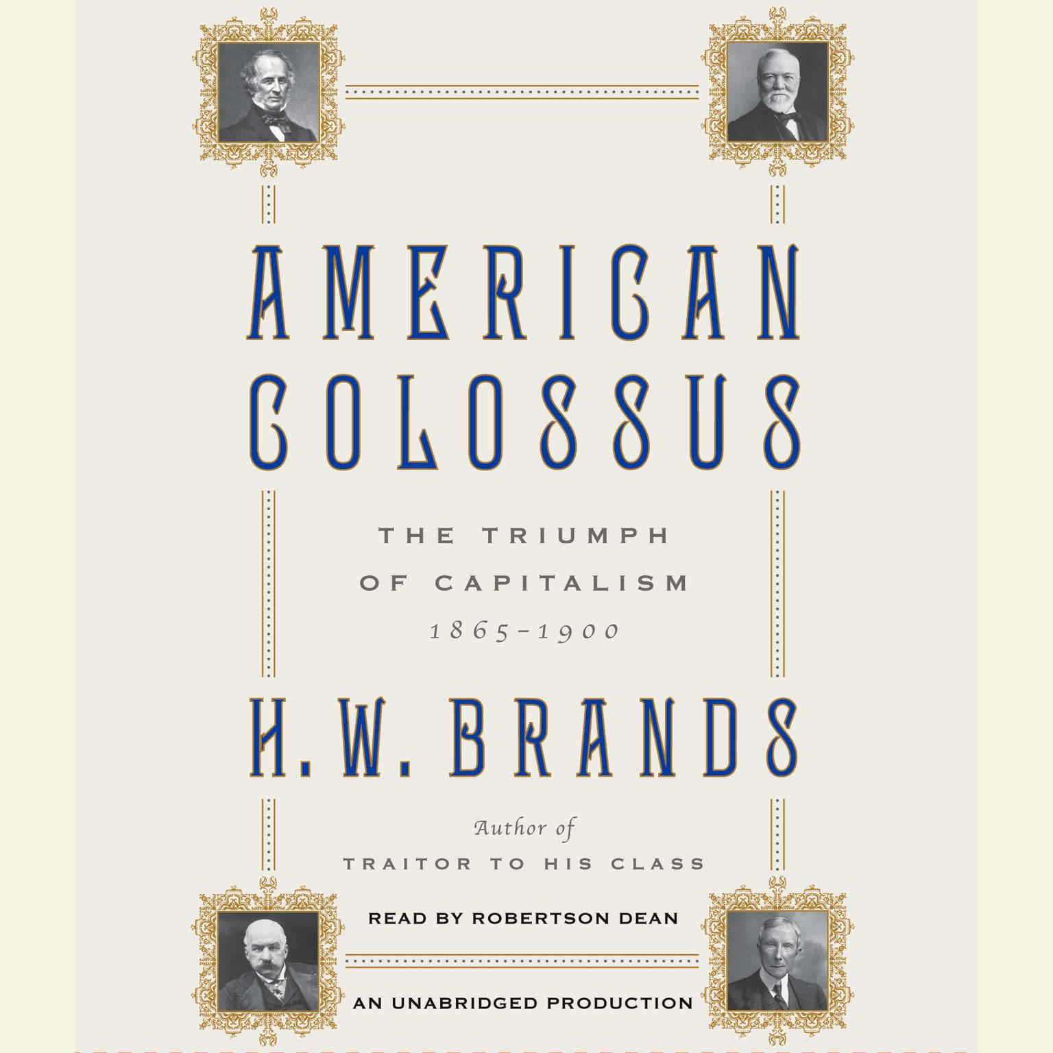 Printable American Colossus: The Triumph of Capitalism, 1865–1900 Audiobook Cover Art