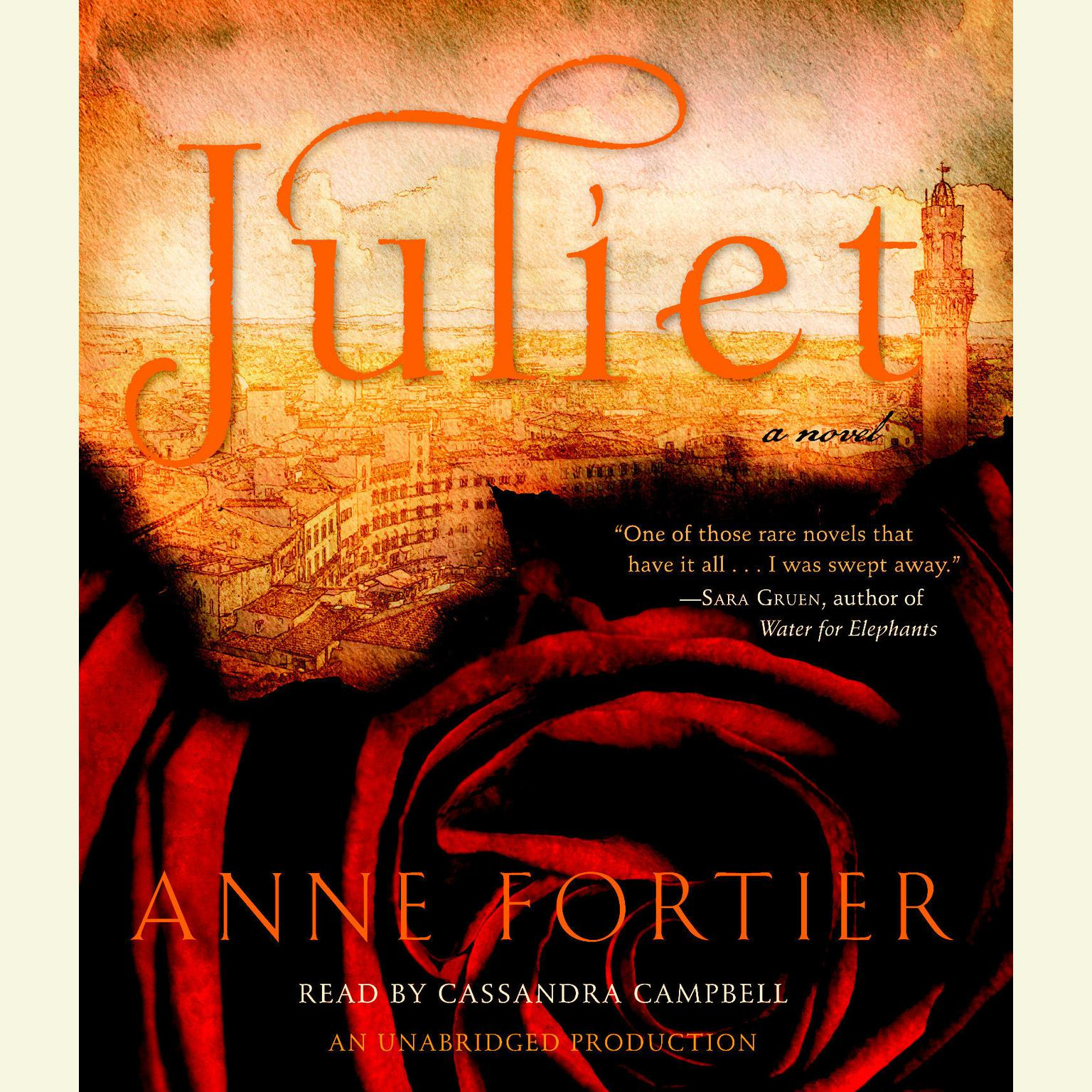 Printable Juliet: A Novel Audiobook Cover Art