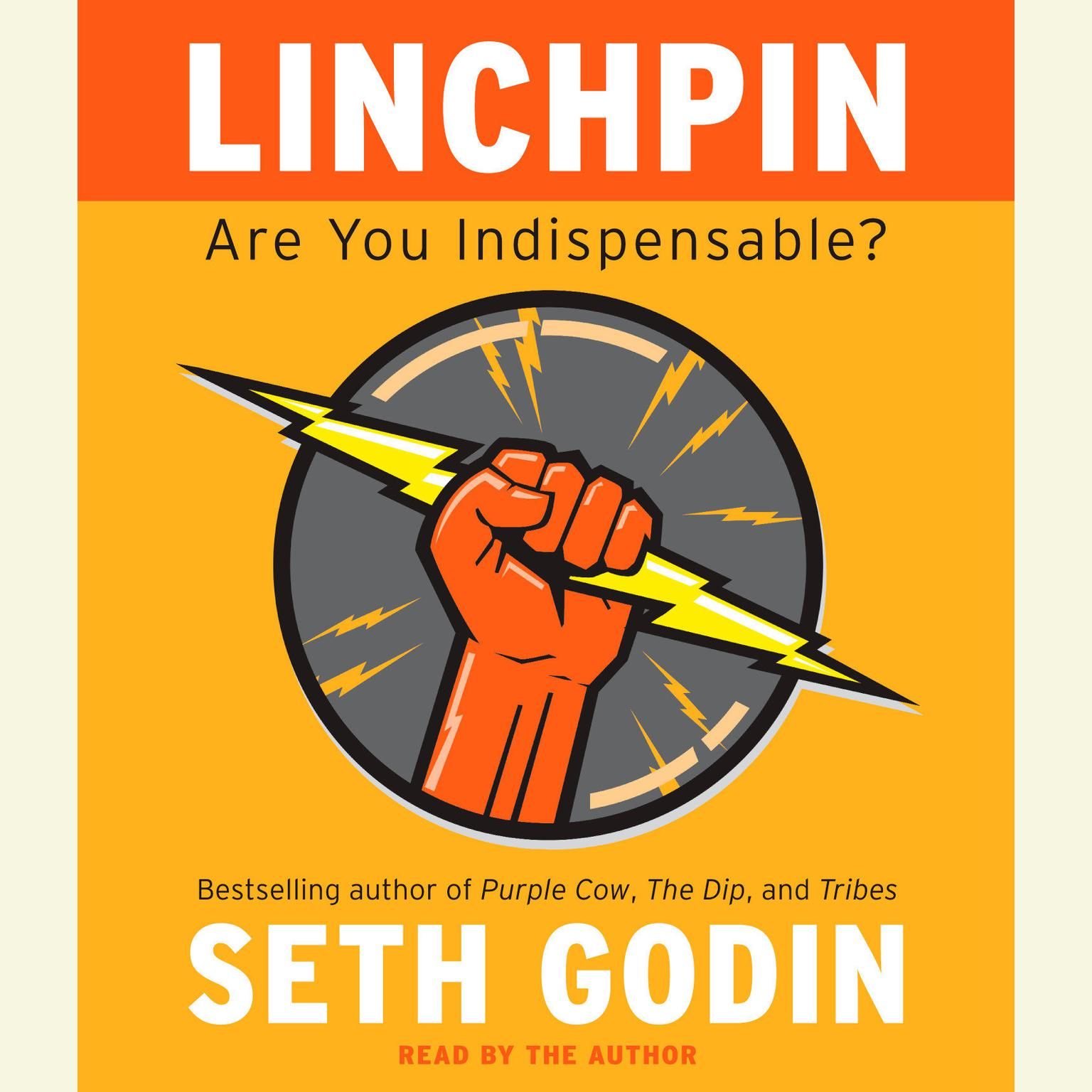 Printable Linchpin: Are You Indispensable? Audiobook Cover Art
