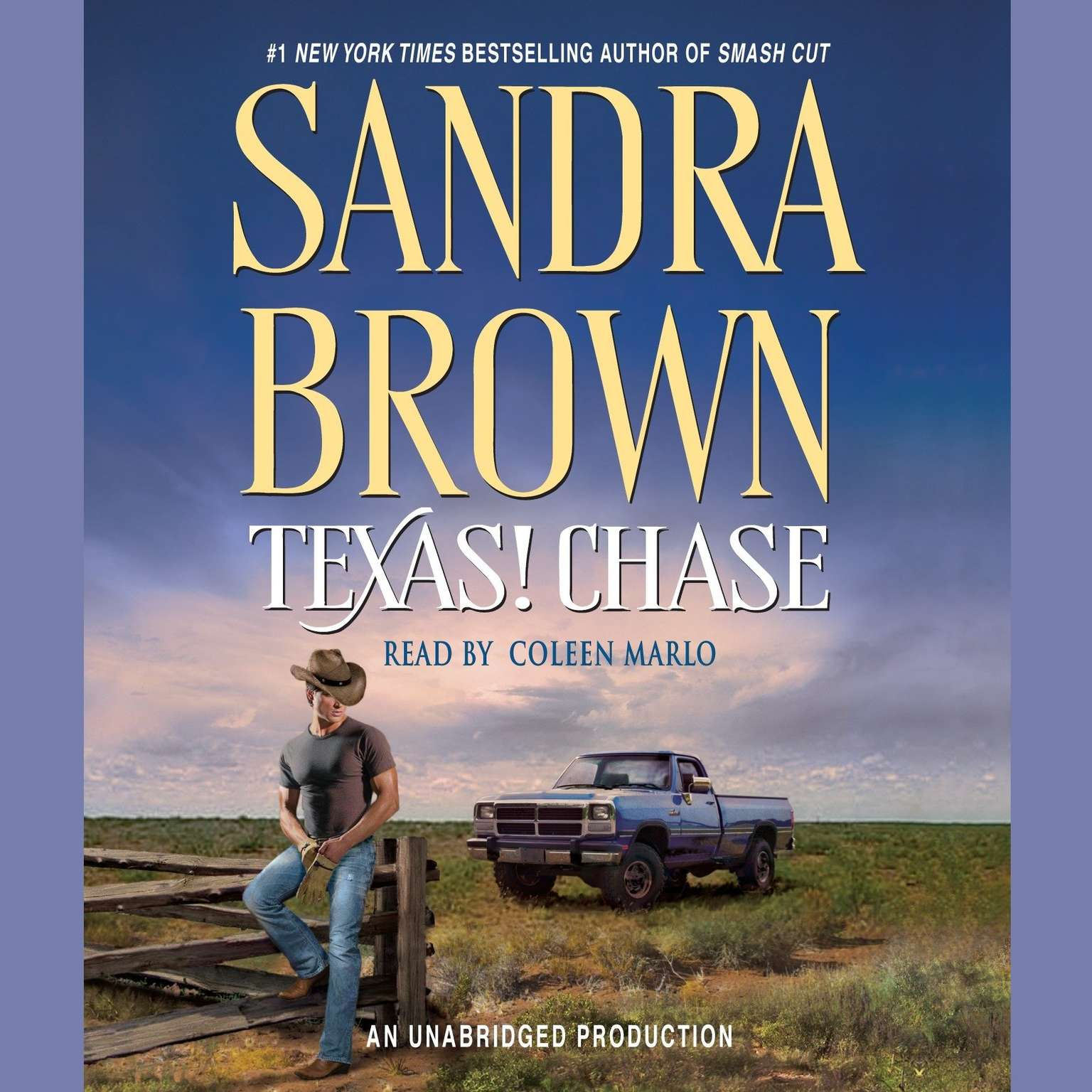Printable Texas! Chase Audiobook Cover Art