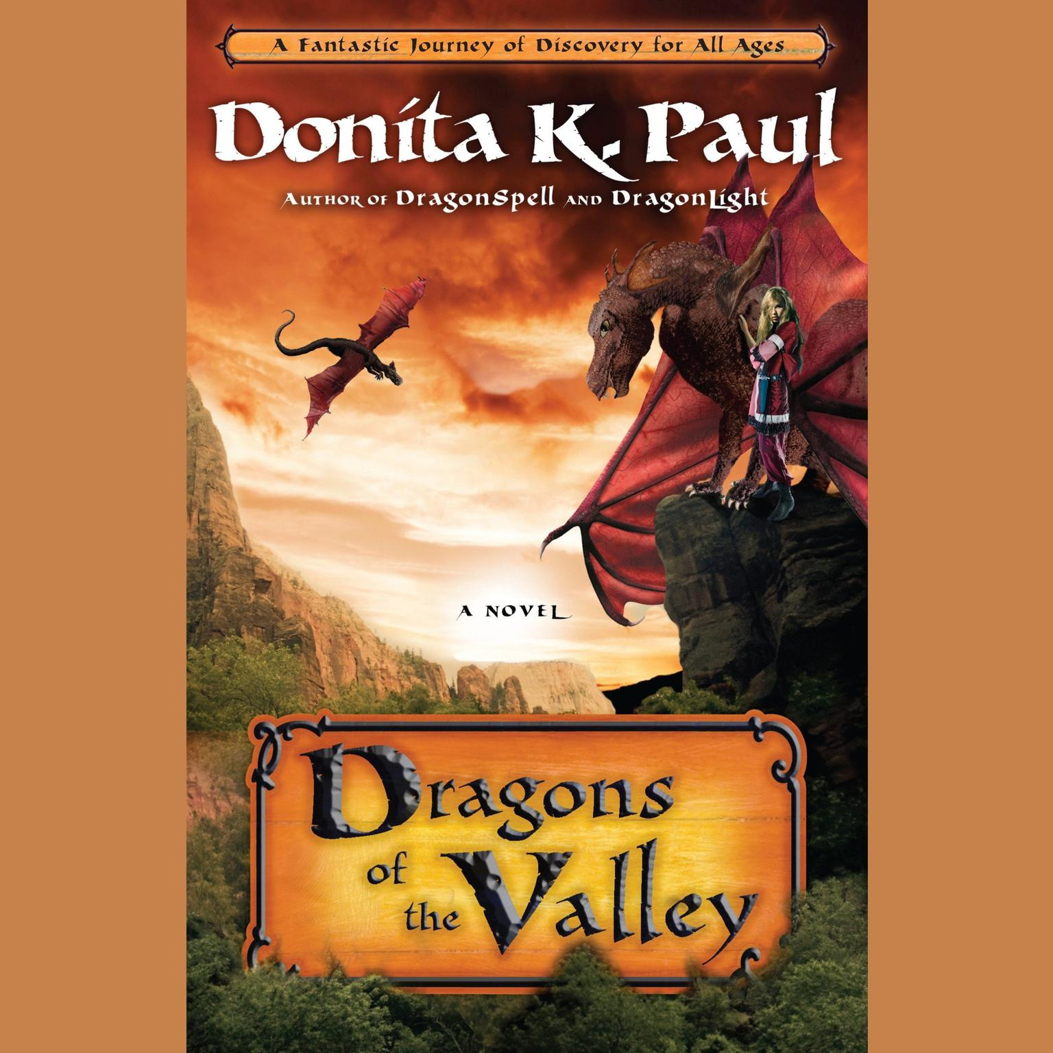 Printable Dragons of the Valley: A Novel Audiobook Cover Art