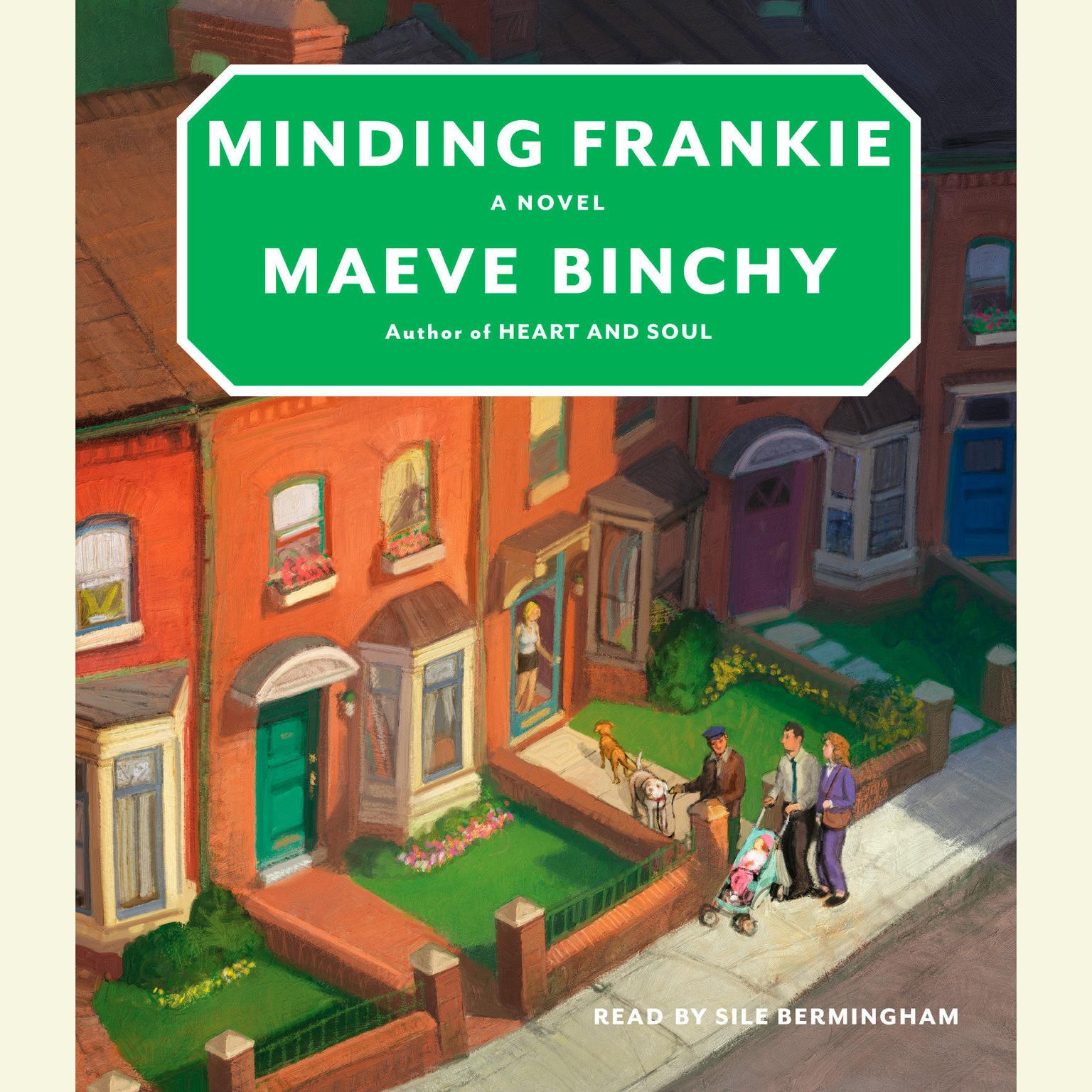 Printable Minding Frankie Audiobook Cover Art