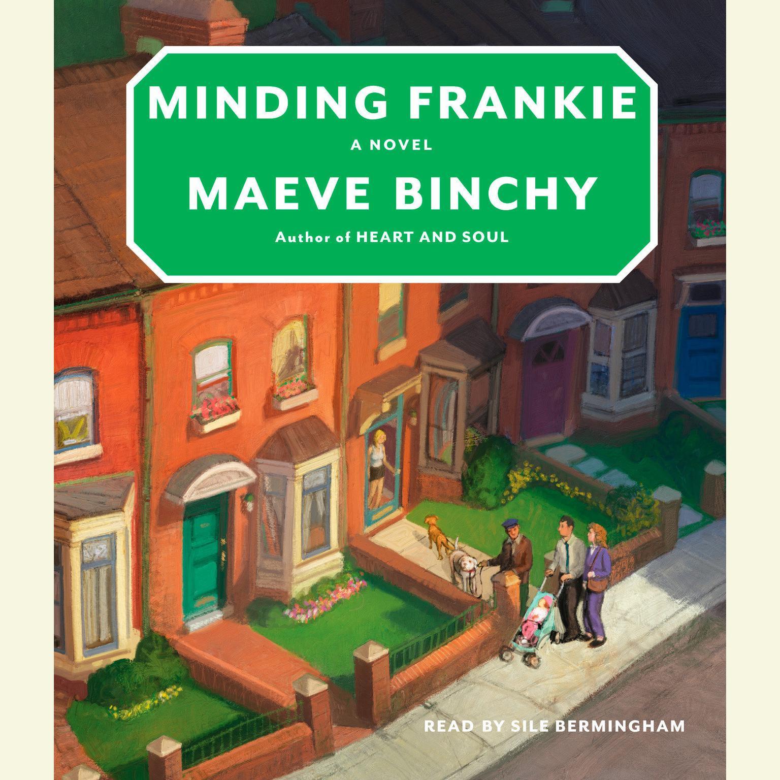 Printable Minding Frankie Audiobook Cover Art