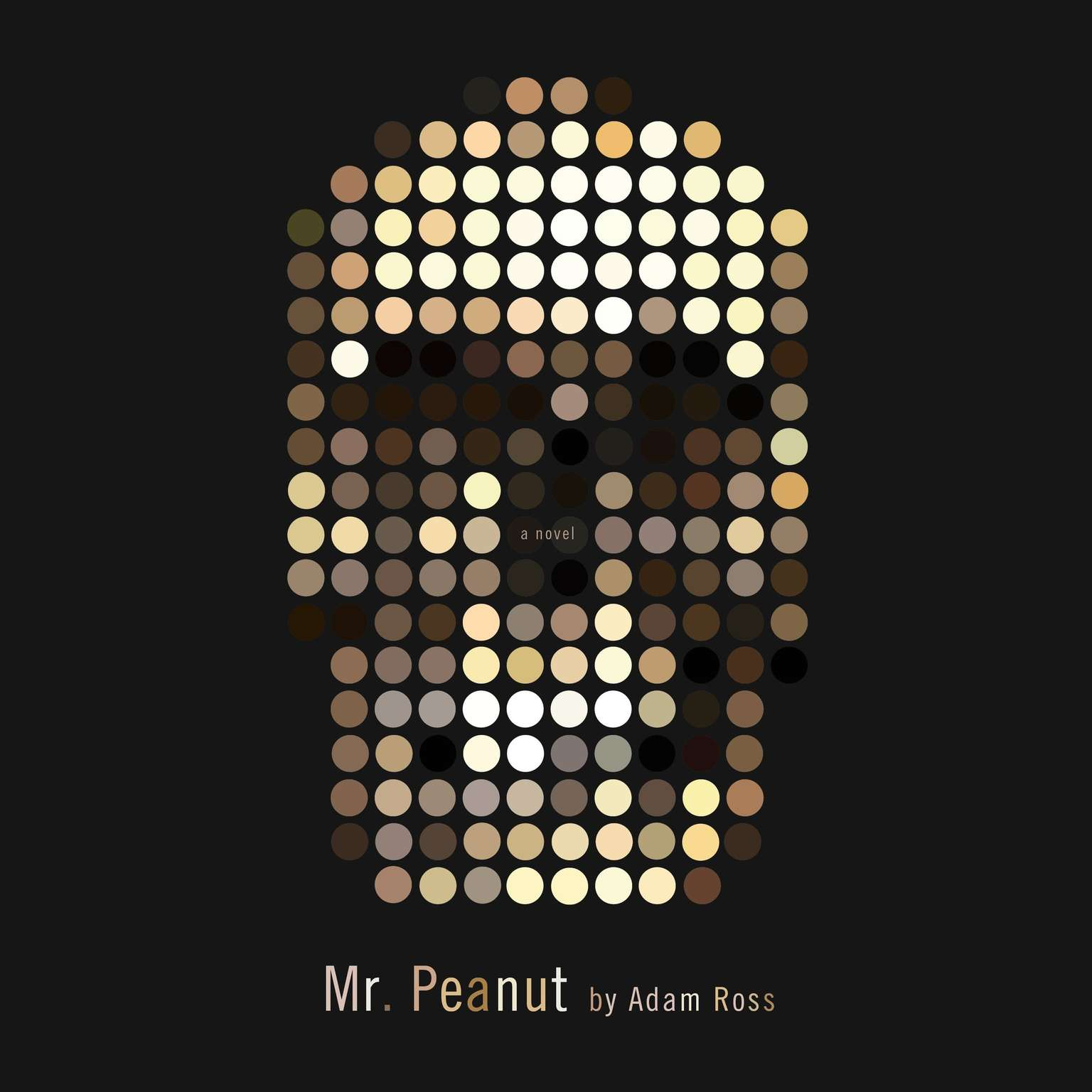 Printable Mr. Peanut Audiobook Cover Art