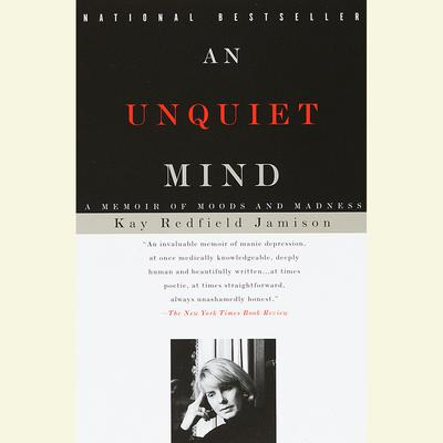 Printable An Unquiet Mind Audiobook Cover Art