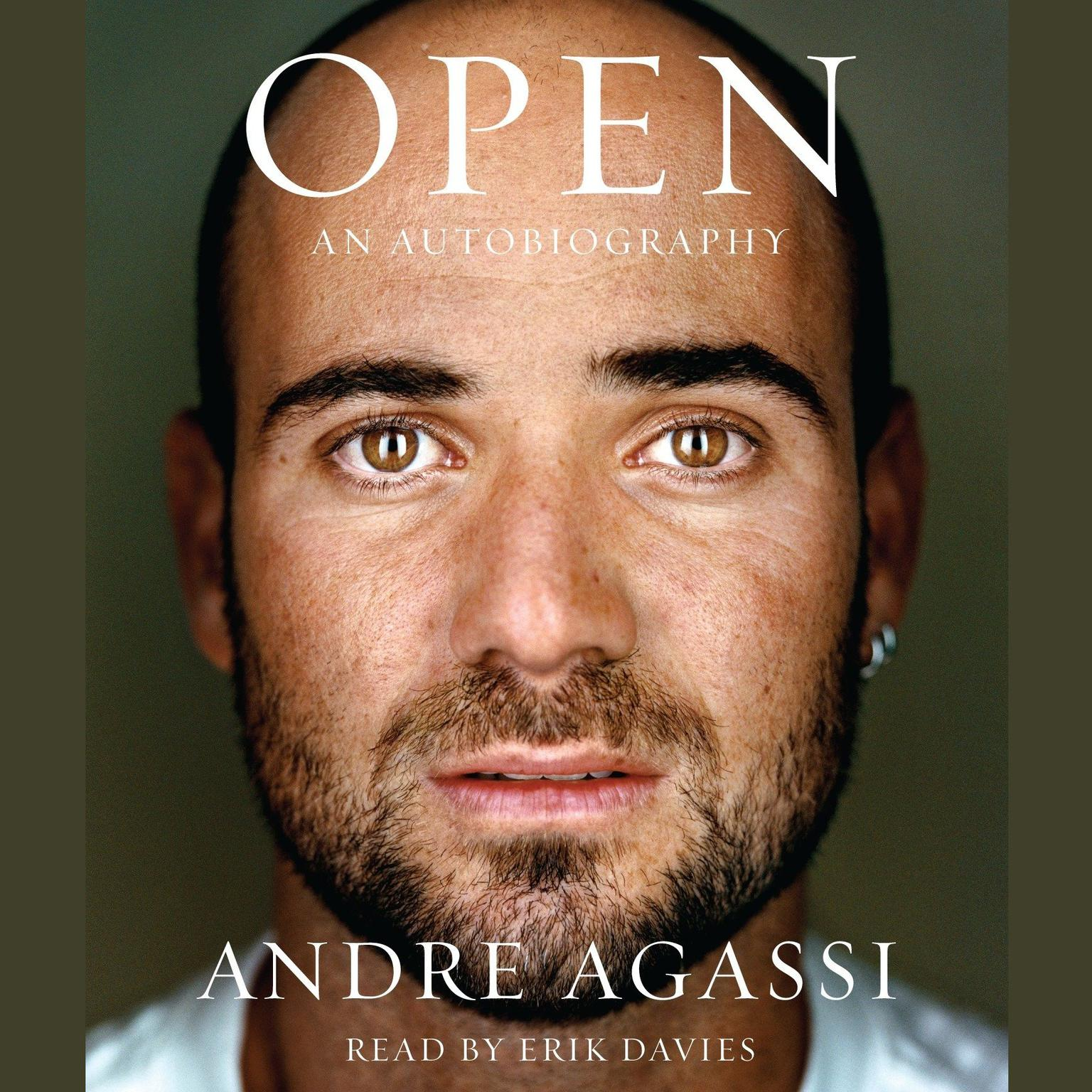 Printable Open: An Autobiography Audiobook Cover Art