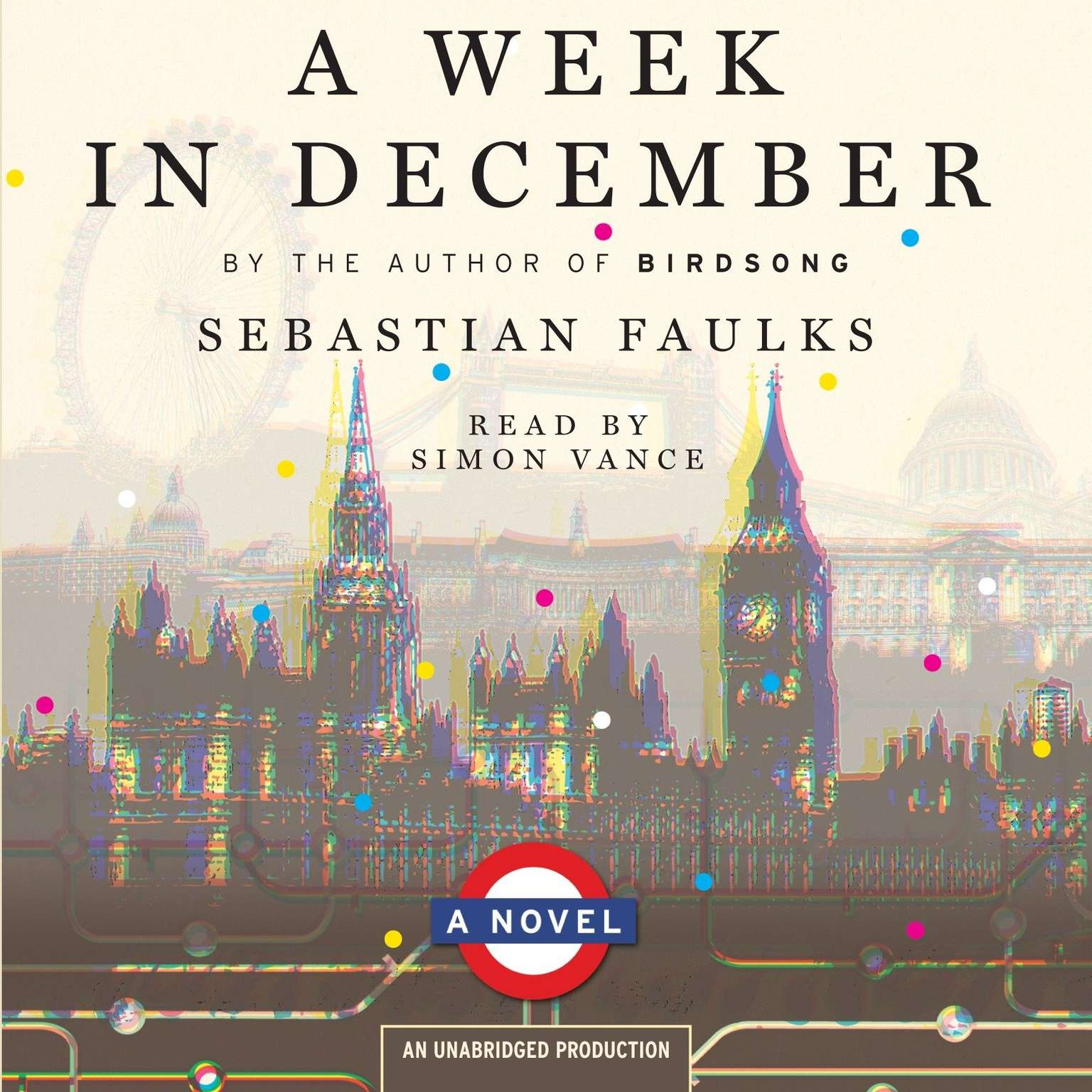 Printable A Week in December Audiobook Cover Art