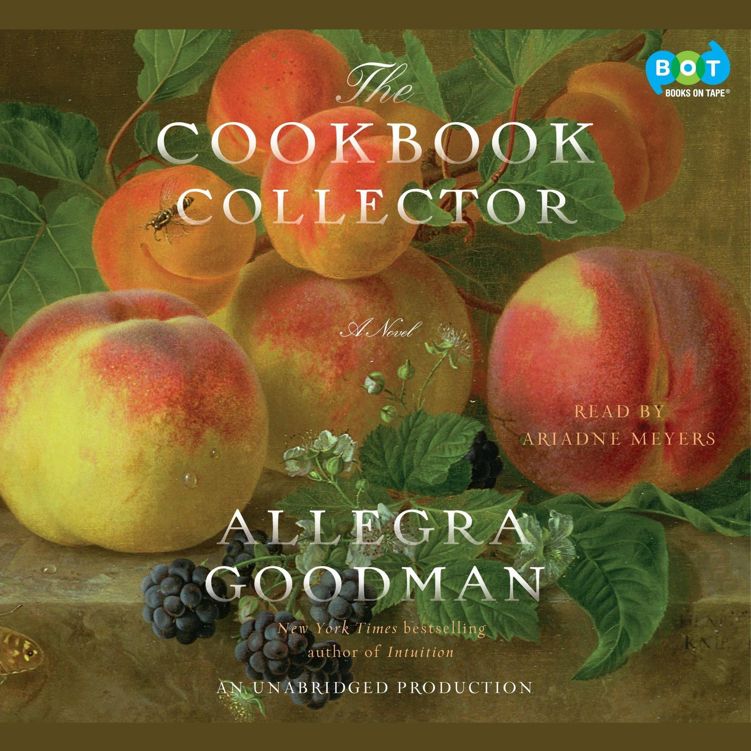 Printable The Cookbook Collector: A Novel Audiobook Cover Art