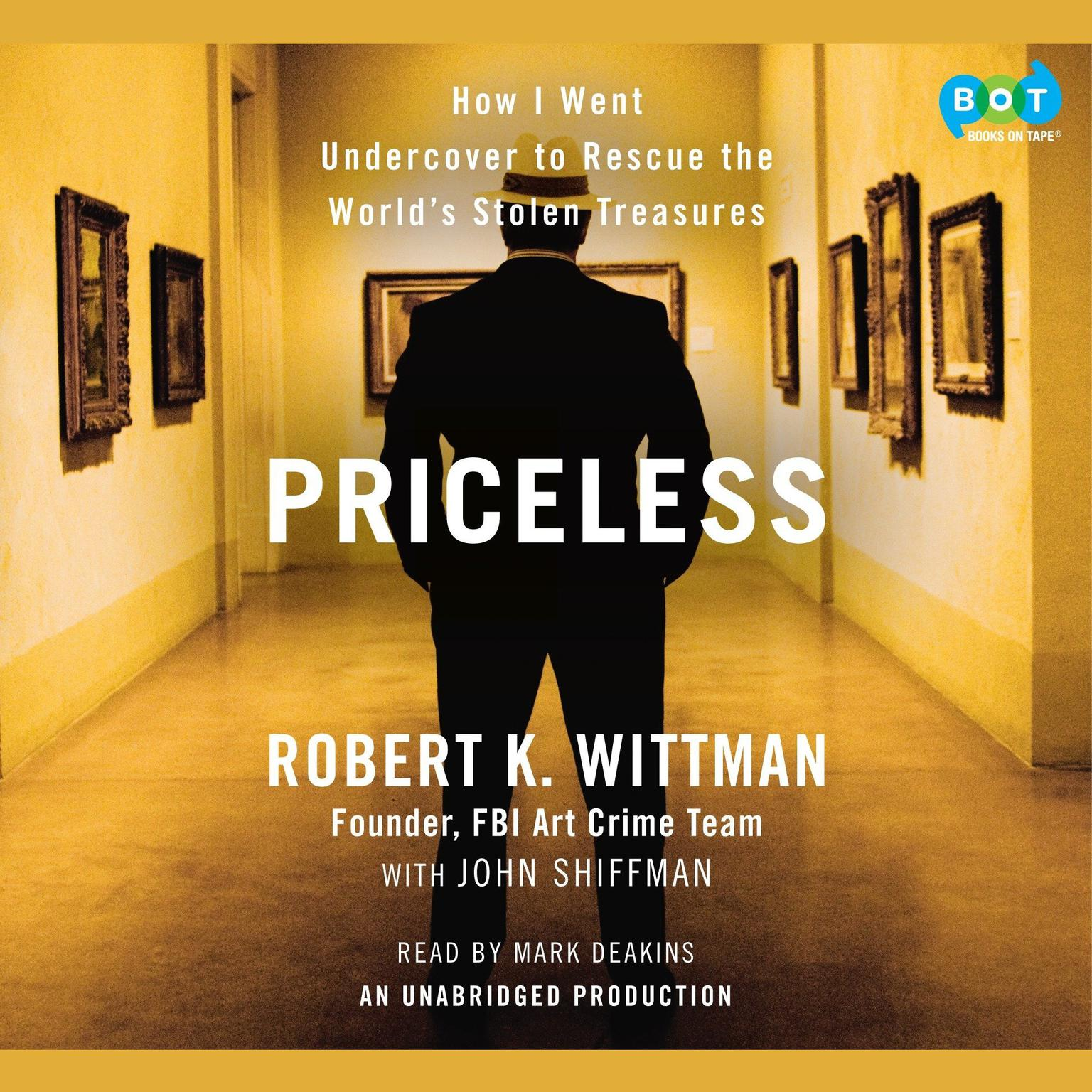 Printable Priceless: How I Went Undercover to Rescue the World's Stolen Treasures Audiobook Cover Art