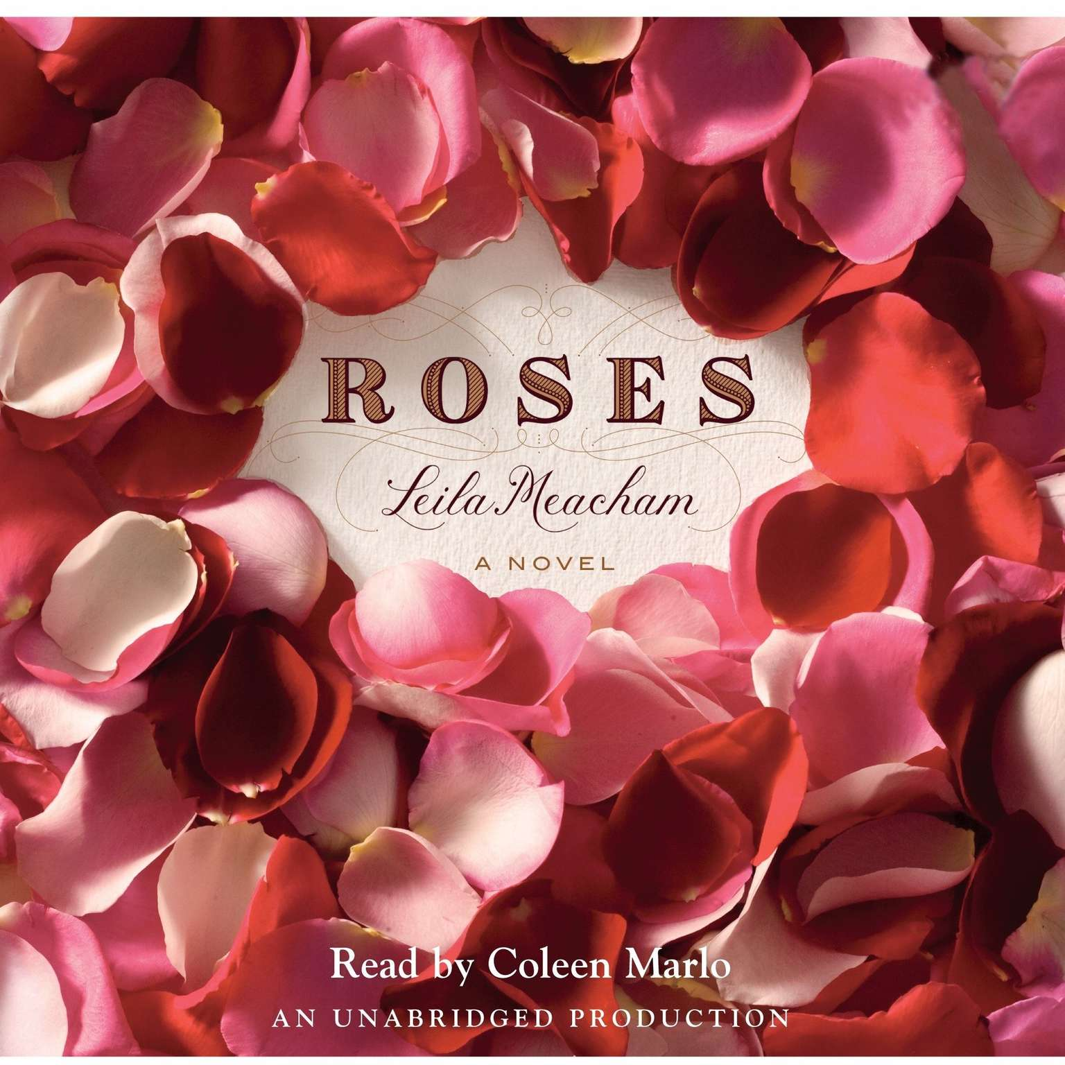 Printable Roses Audiobook Cover Art