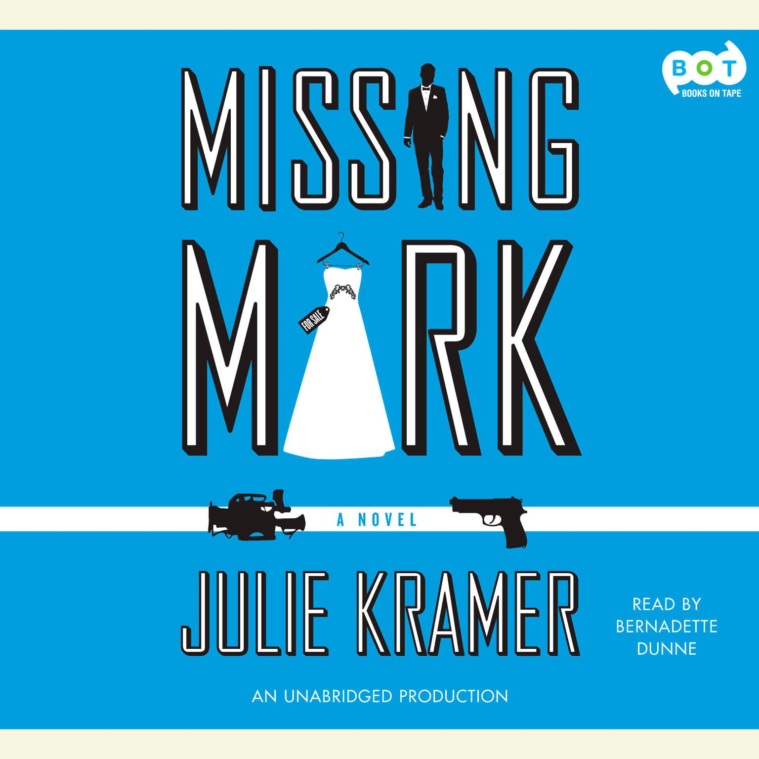 Printable Missing Mark Audiobook Cover Art
