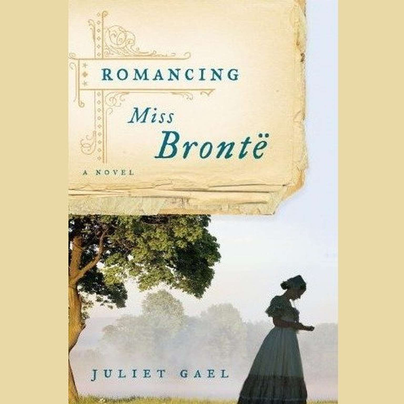 Printable Romancing Miss Bronte: A Novel Audiobook Cover Art