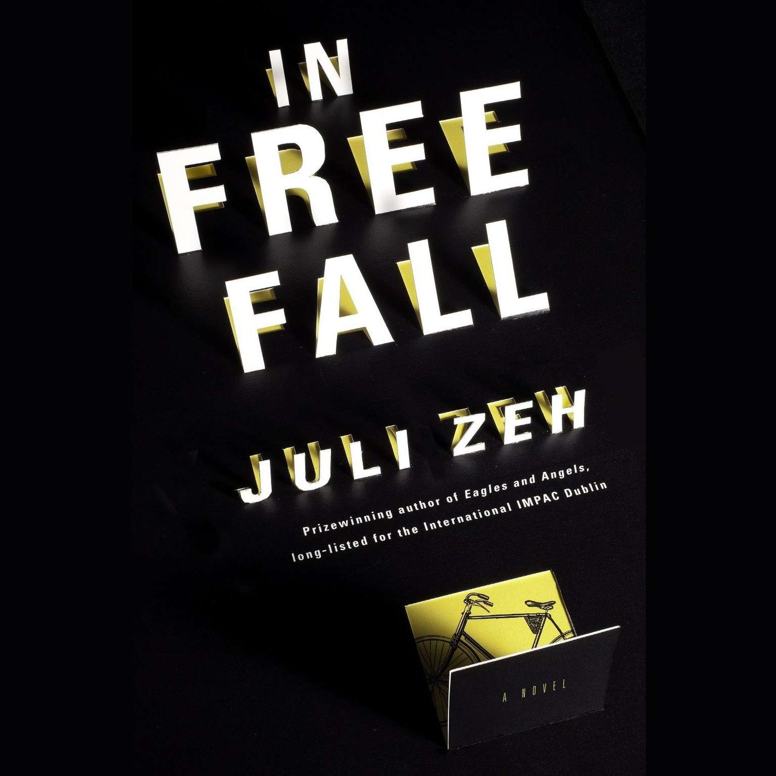 Printable In Free Fall: A Novel Audiobook Cover Art