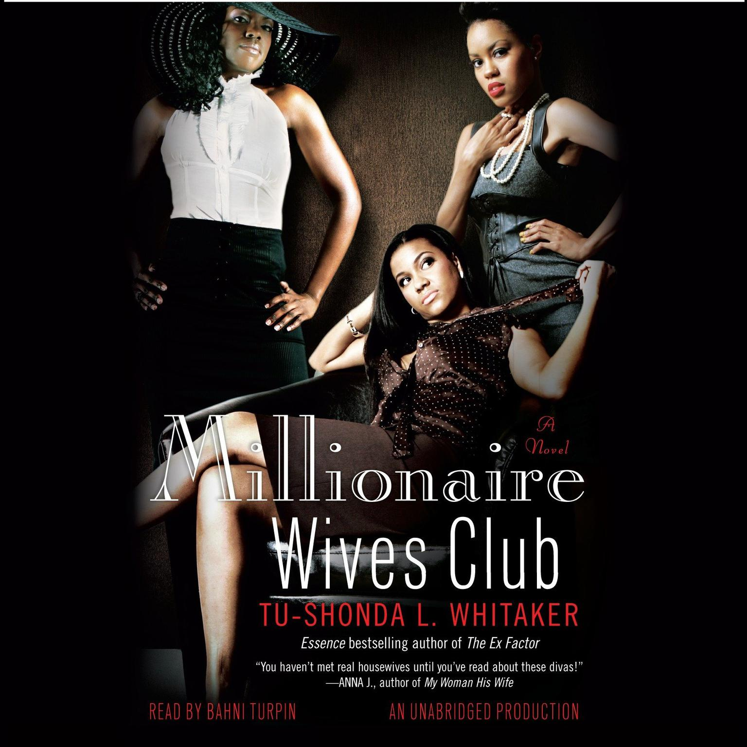 Printable Millionaire Wives Club: A Novel Audiobook Cover Art