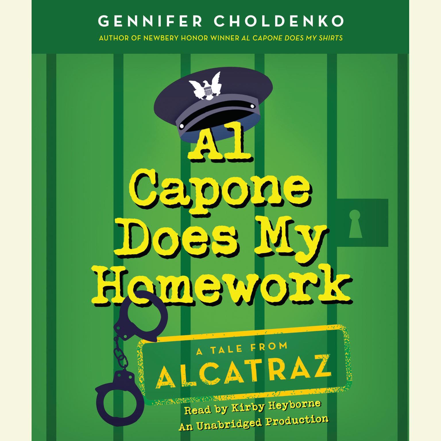 Printable Al Capone Does My Homework Audiobook Cover Art