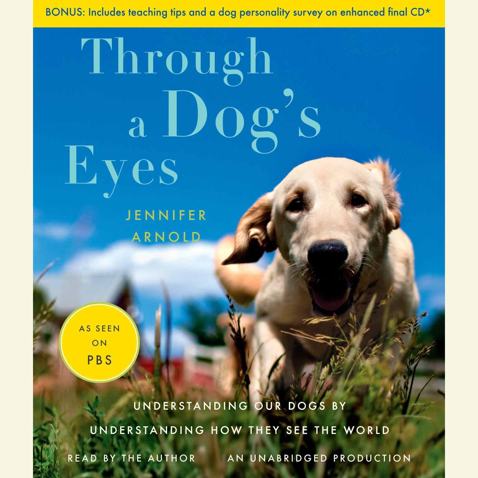 Printable Through a Dog's Eyes Audiobook Cover Art