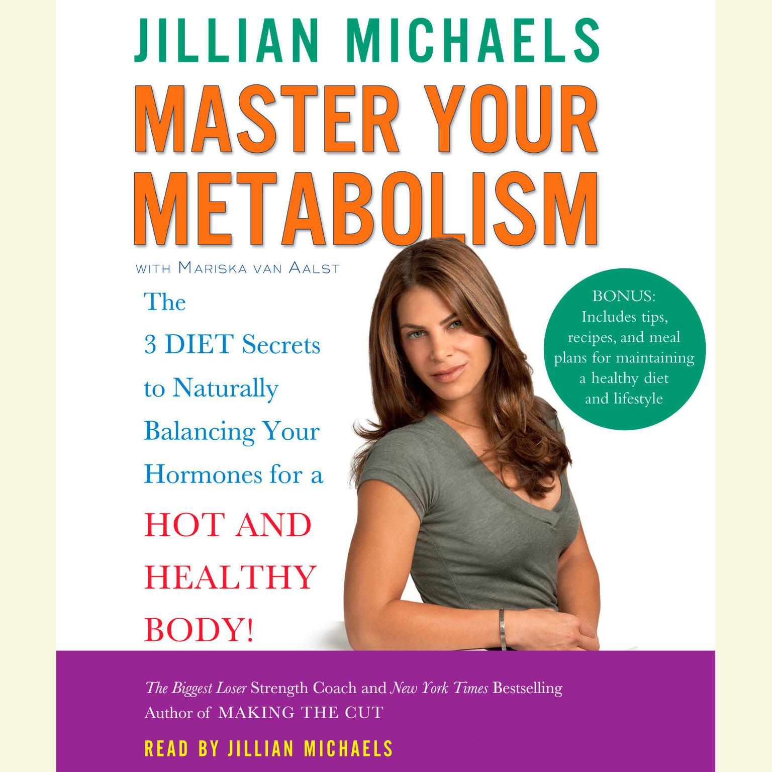 Printable Master Your Metabolism: The 3 Diet Secrets to Naturally Balancing Your Hormones for a Hot and Healthy Body! Audiobook Cover Art