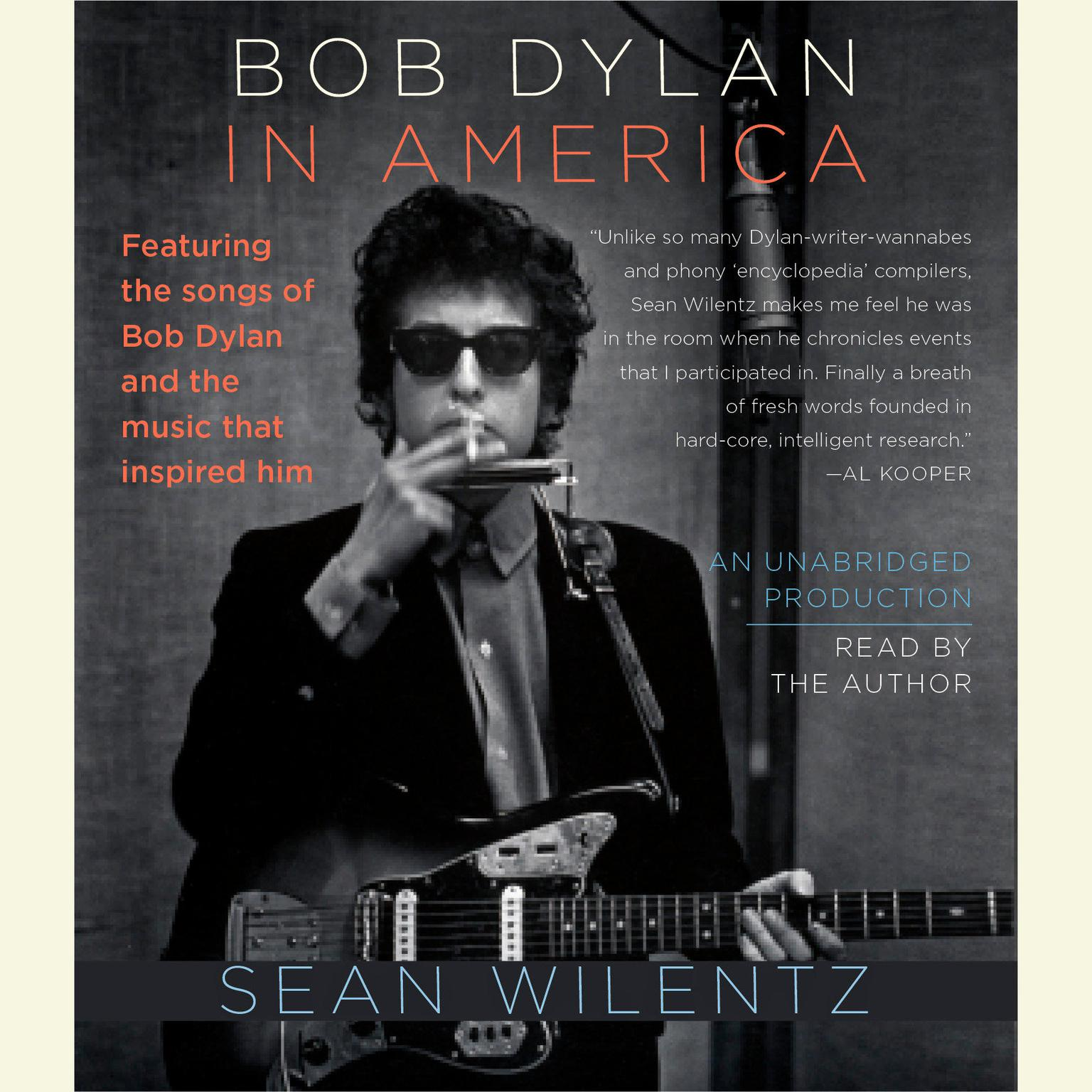 Printable Bob Dylan In America Audiobook Cover Art